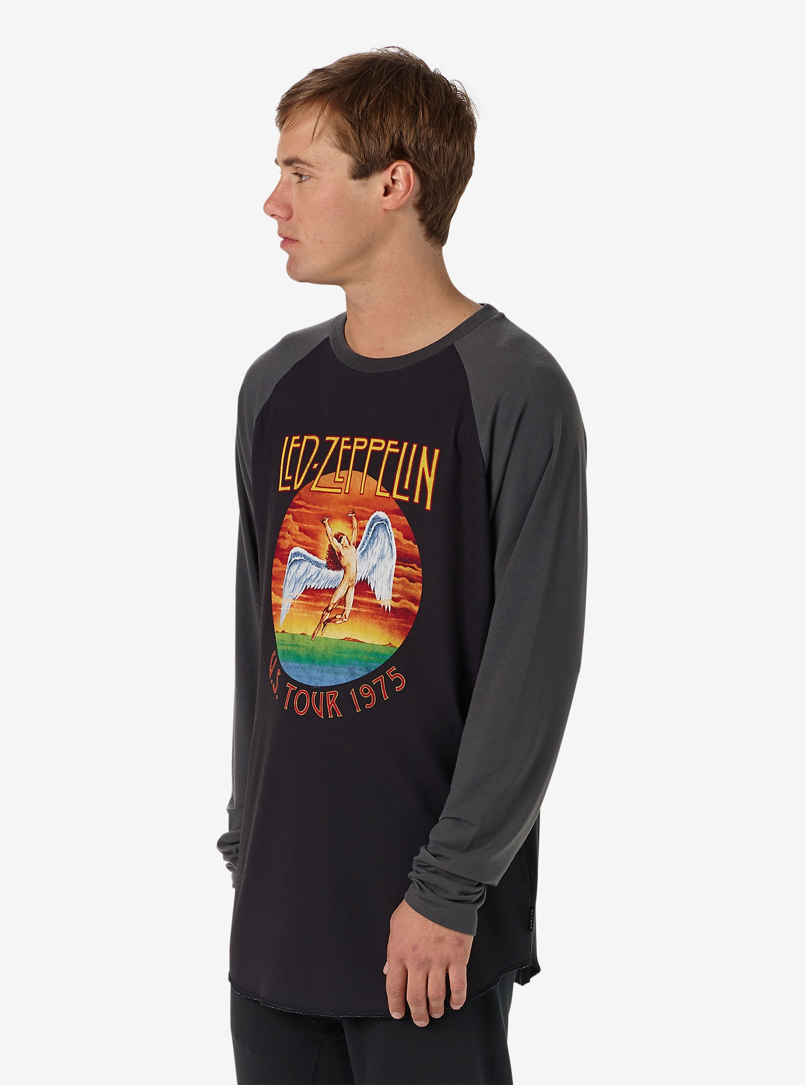 Led Zeppelin x Burton Roadie Tech Tee shown in Led Zeppelin 1975