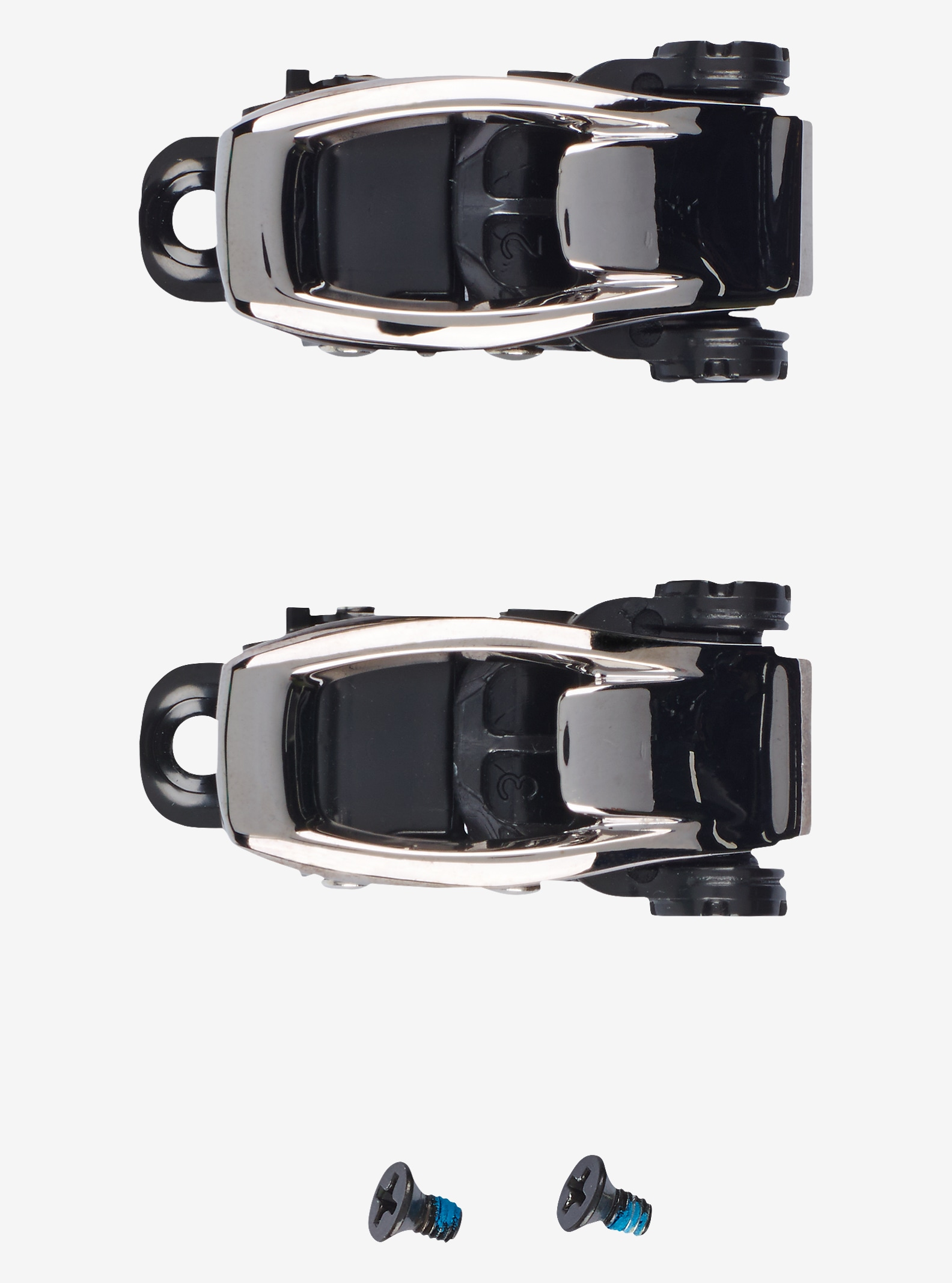 Burton Toe Buckle Replacement Set shown in Black
