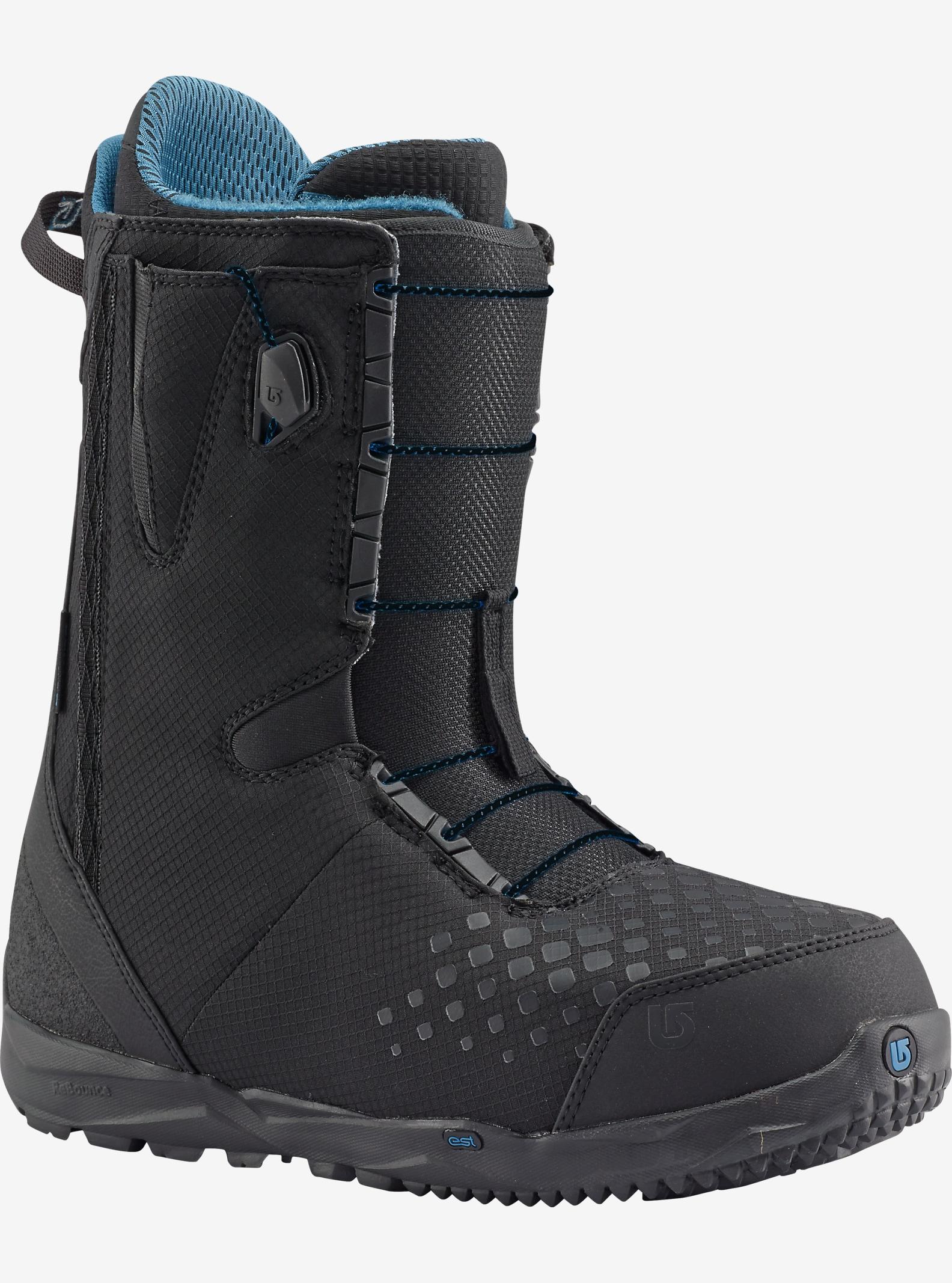 Burton Stash Hunter Snowboard Boot shown in Black / Blue