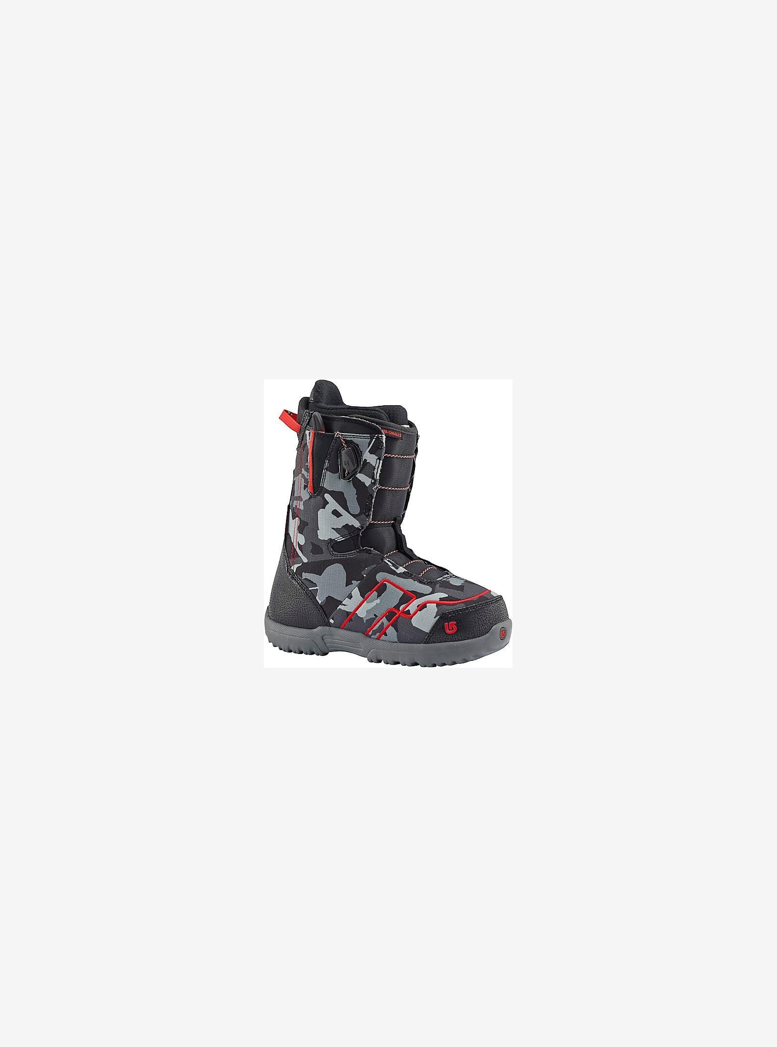 Burton Stash Hunter Jr. Snowboard Boot shown in Black / Red