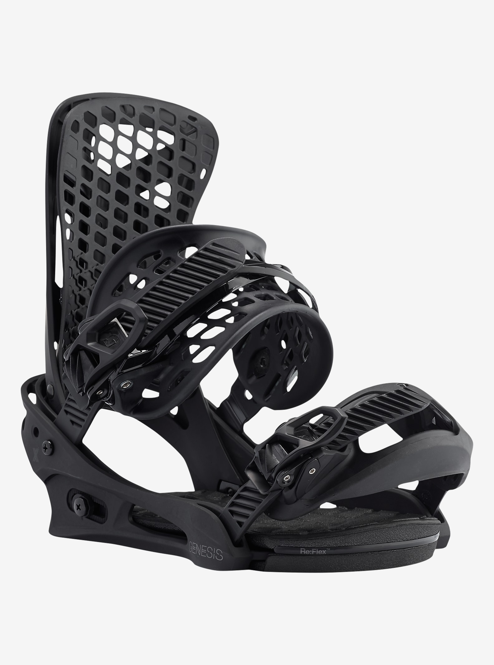 Burton Genesis X Snowboard Binding shown in Black
