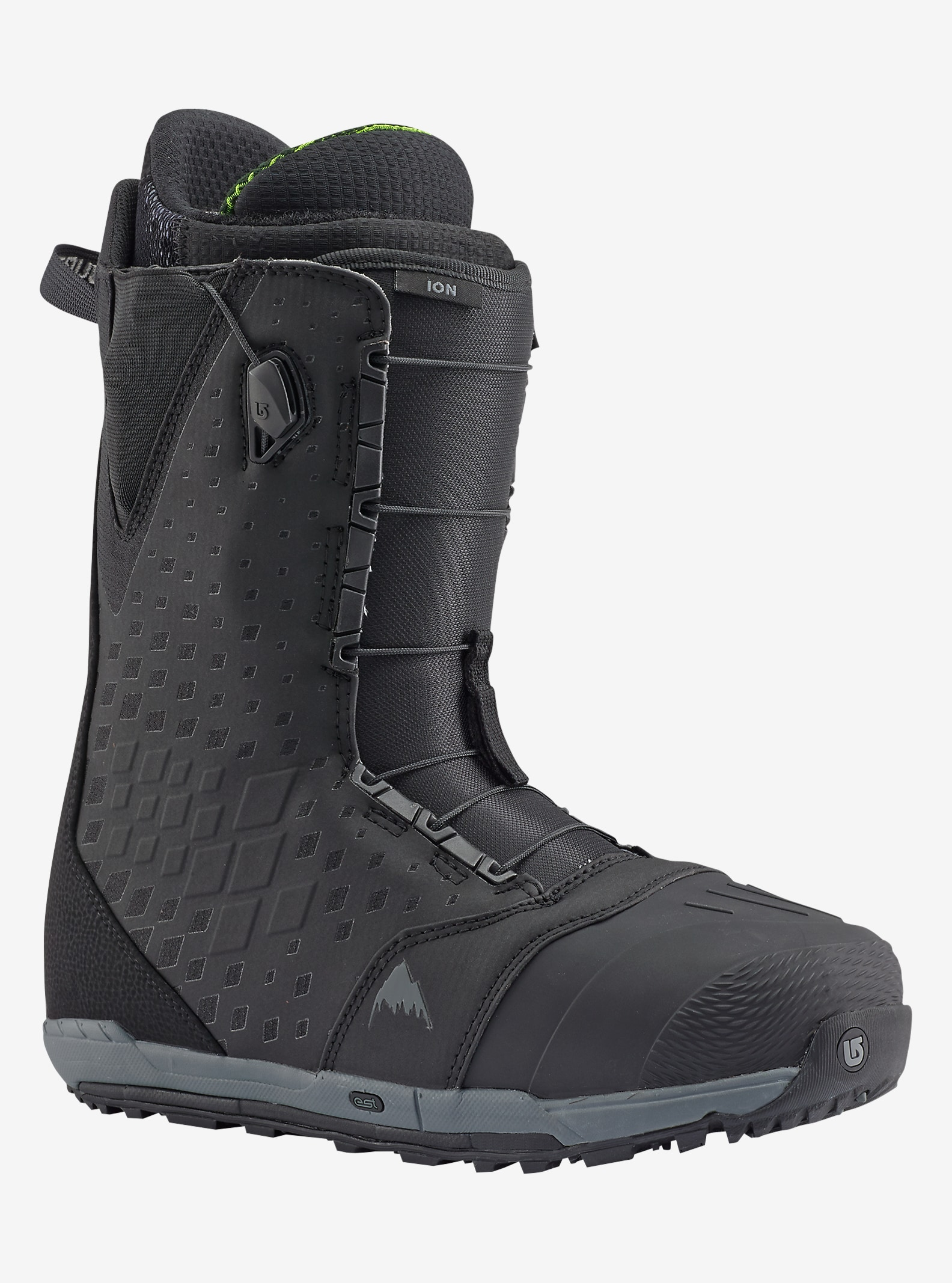 Burton Ion Snowboard Boot shown in Black