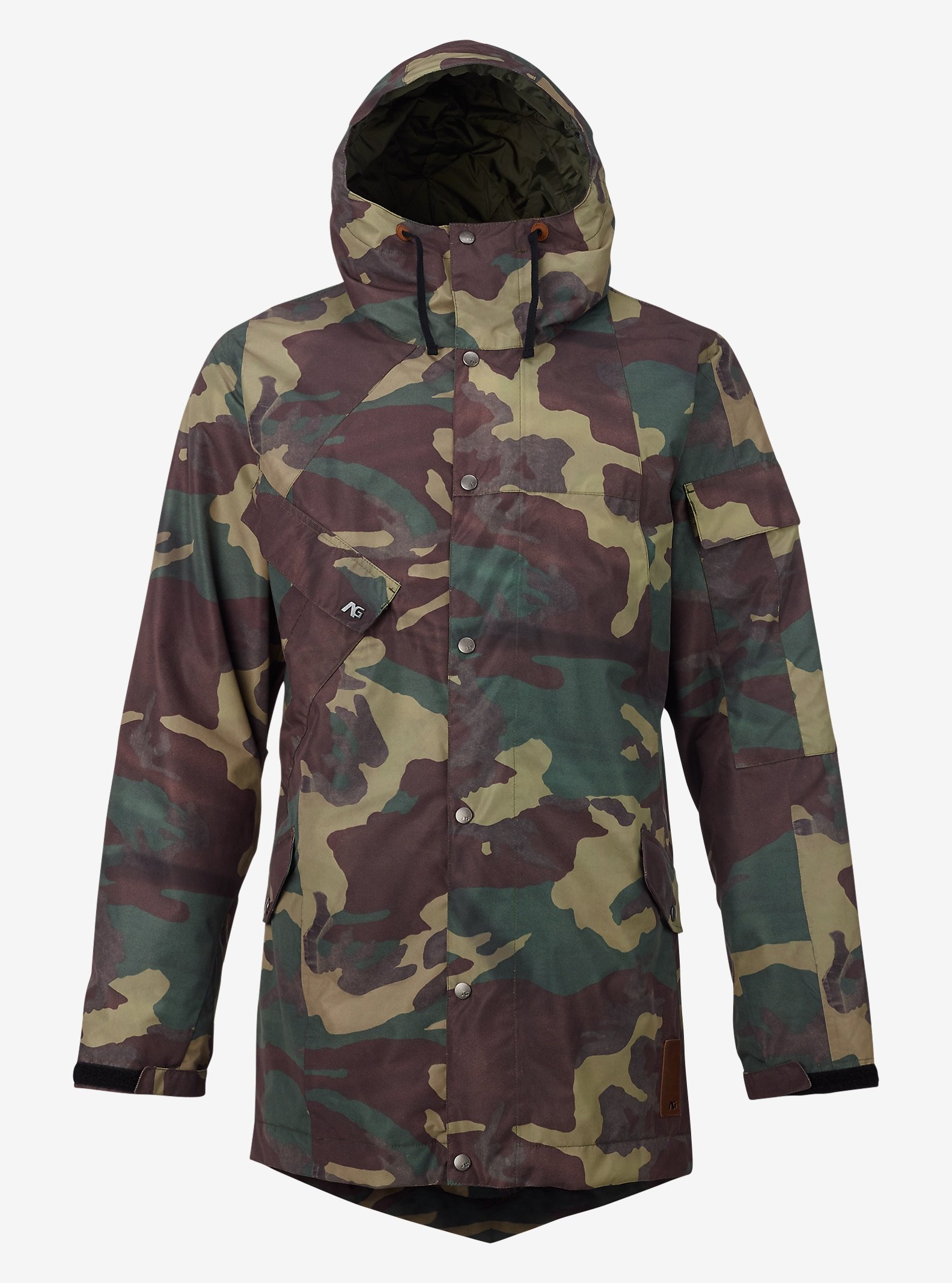 Analog Solitary Jacke angezeigt in Surplus Camo