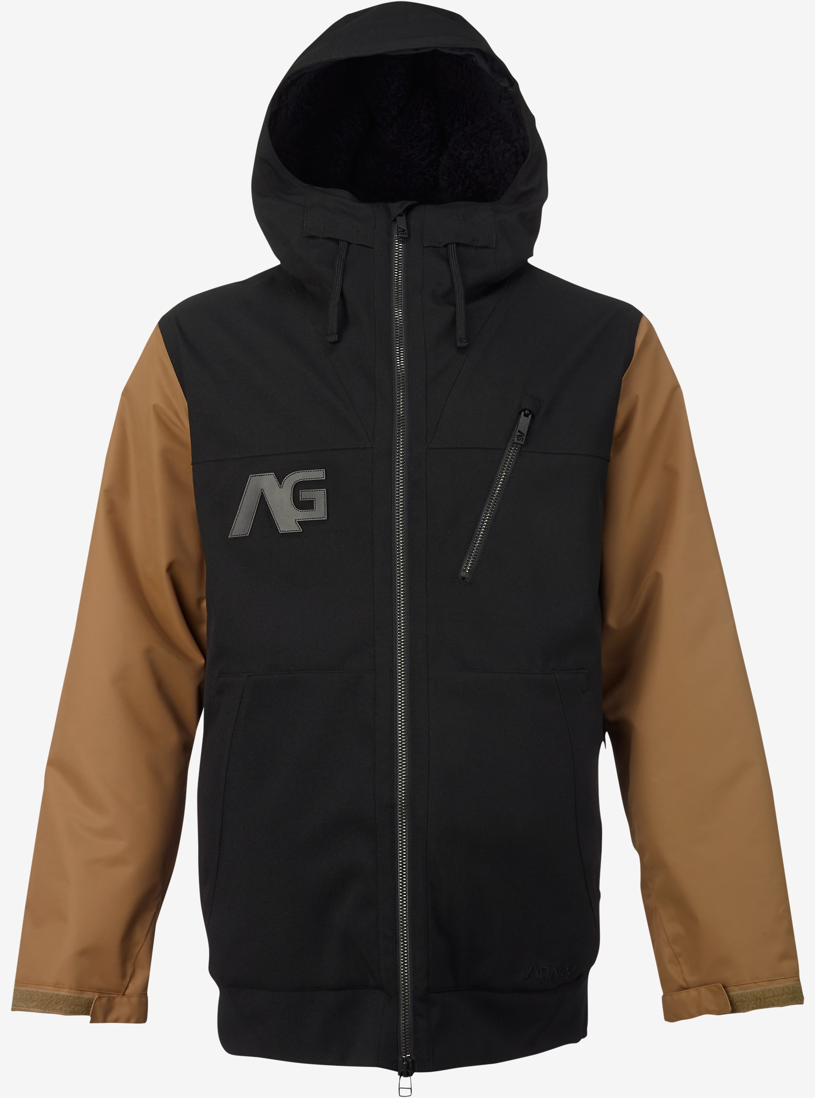 Analog Greed Jacket shown in True Black