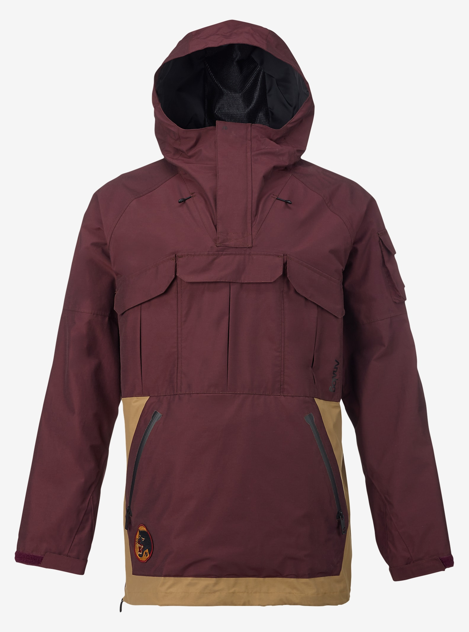Analog Highmark Anorak Jacket shown in Deep Purple / Masonite
