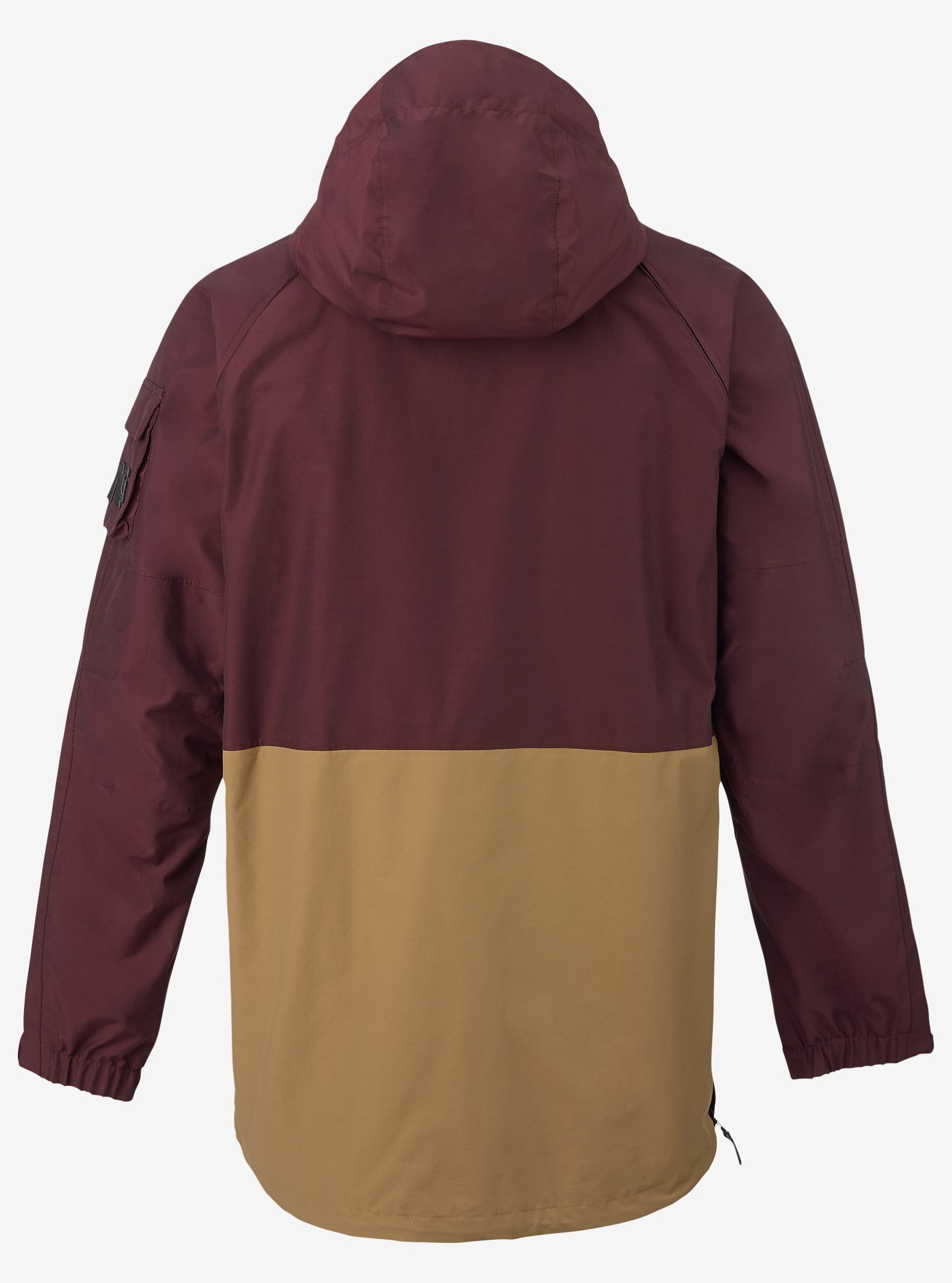 Analog - Manteau anorak Highmark affichage en Deep Purple / Masonite