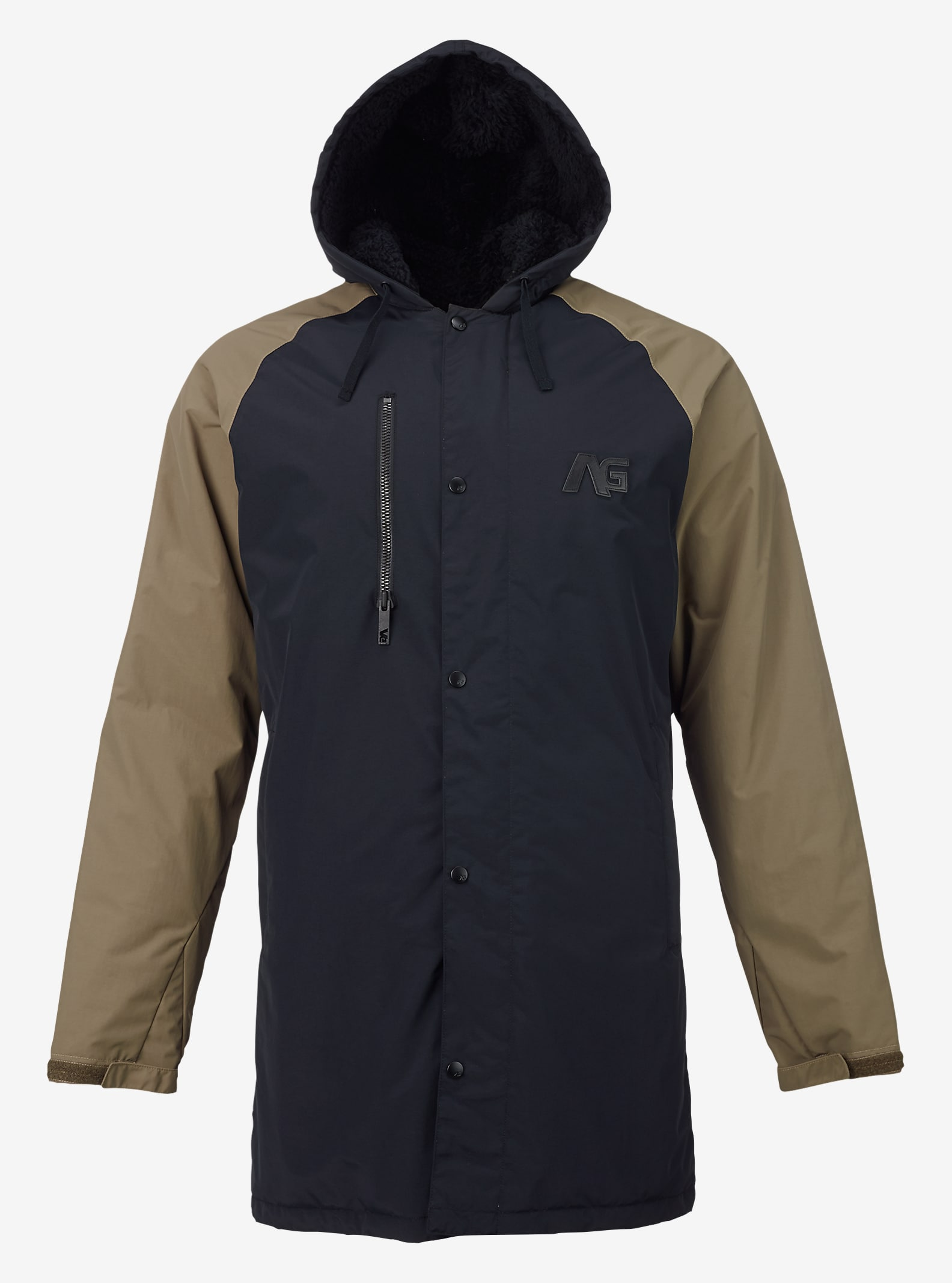 Analog Stadium Parka shown in True Black / Soil