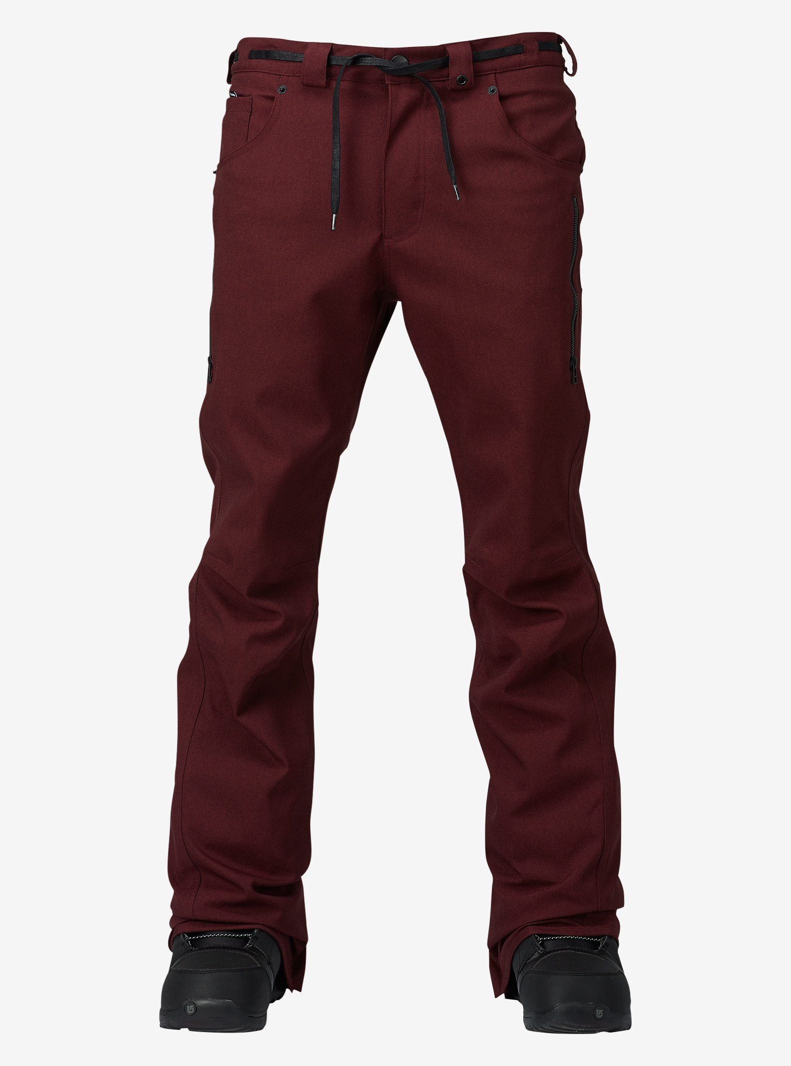 Analog - Pantalon slim Remer affichage en Deep Purple