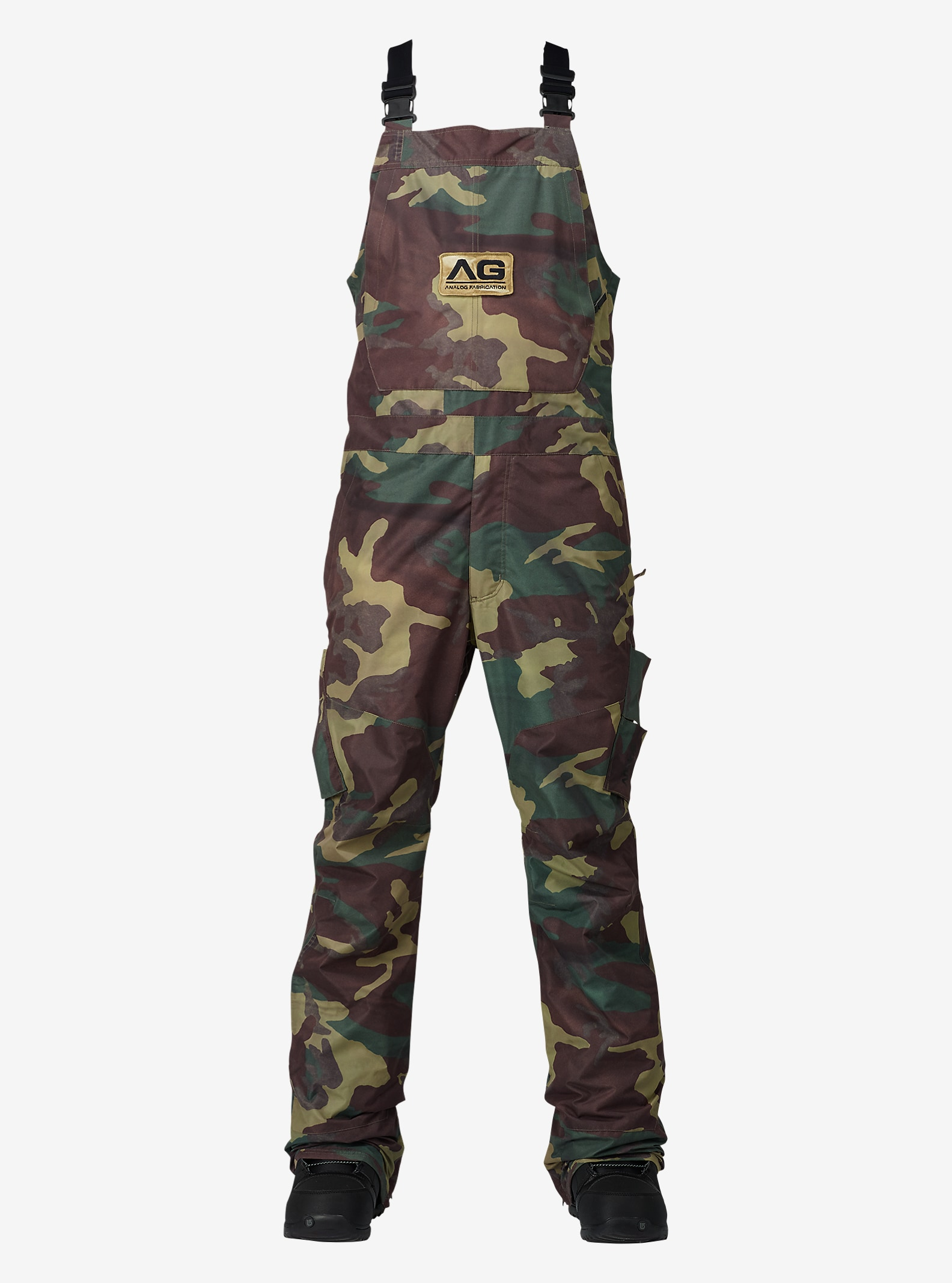 Analog Highmark Bib Pant shown in Surplus Camo