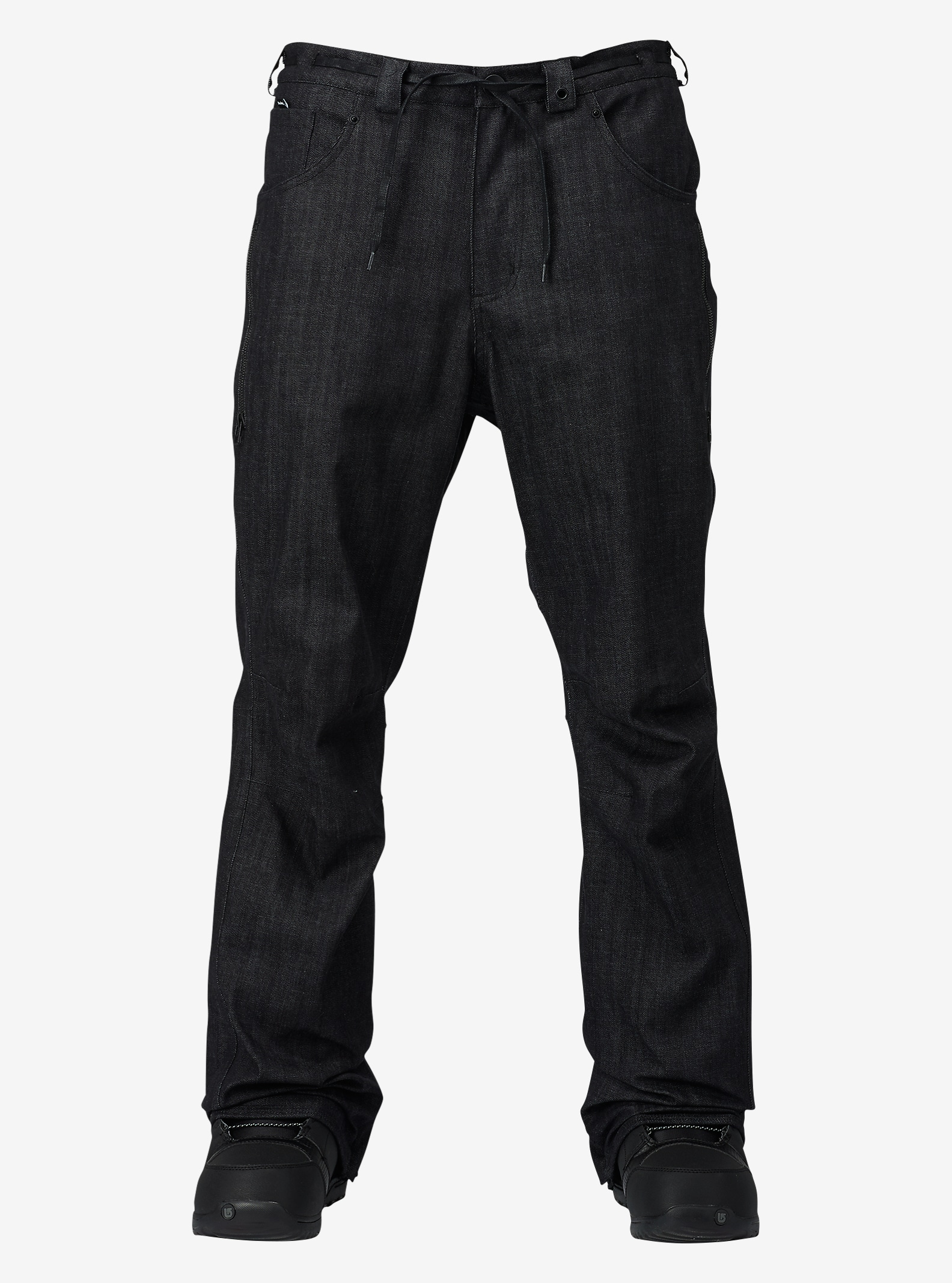 Analog - Pantalon ample Remer affichage en Denim noir