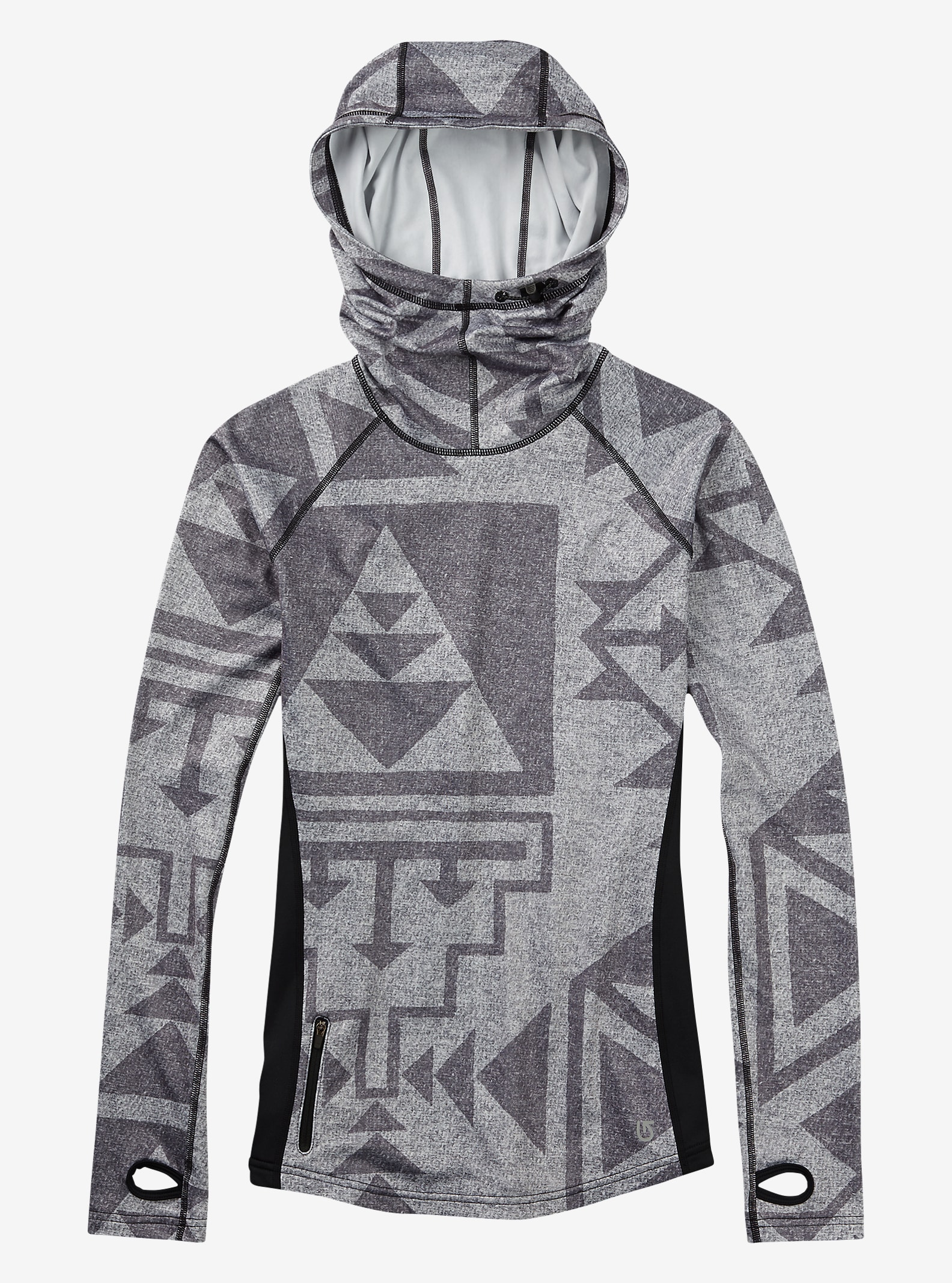 Burton Women's Active Top shown in Neu Nordic