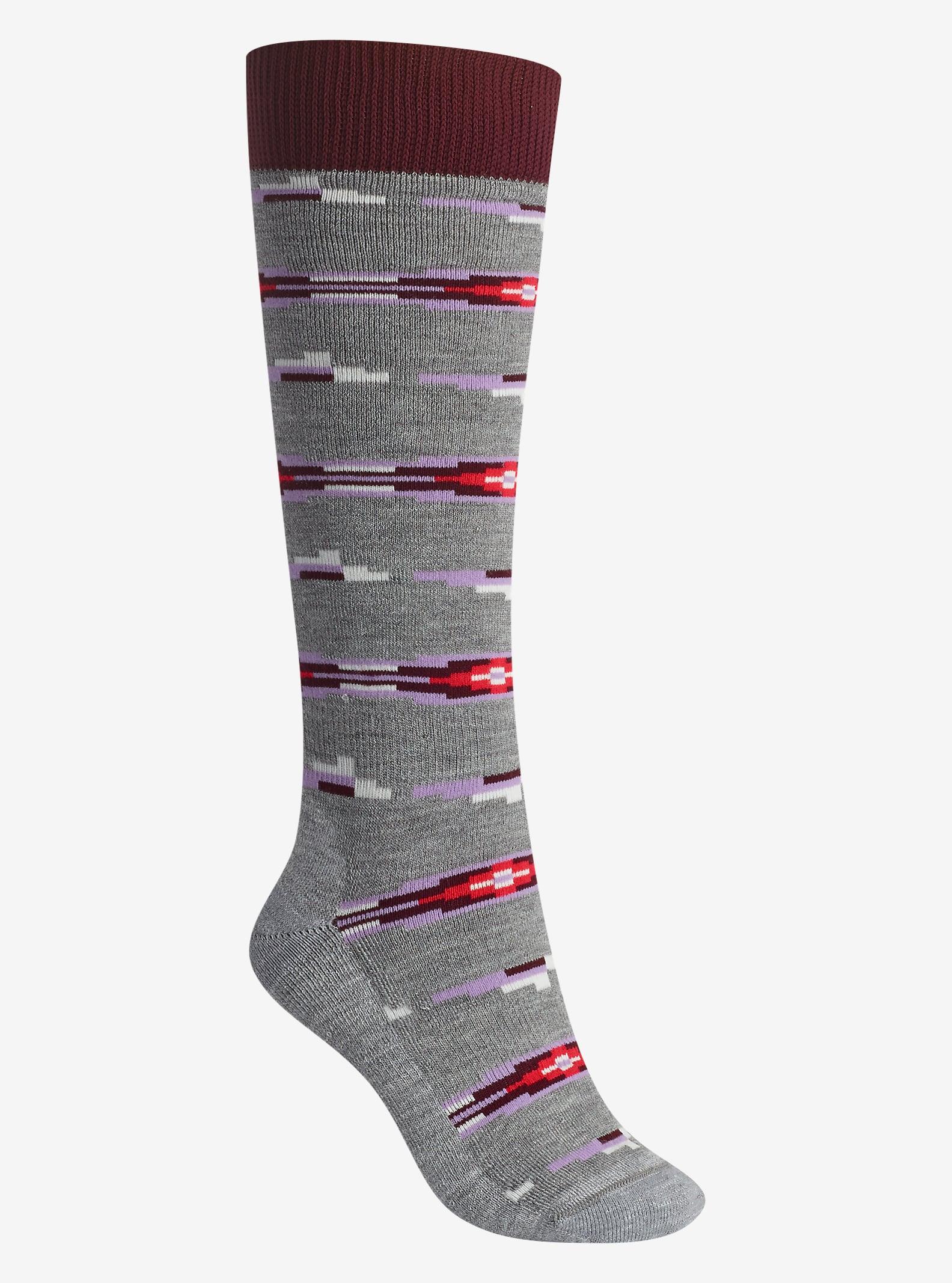 Burton Shadow Sock shown in Heather Iron Gray