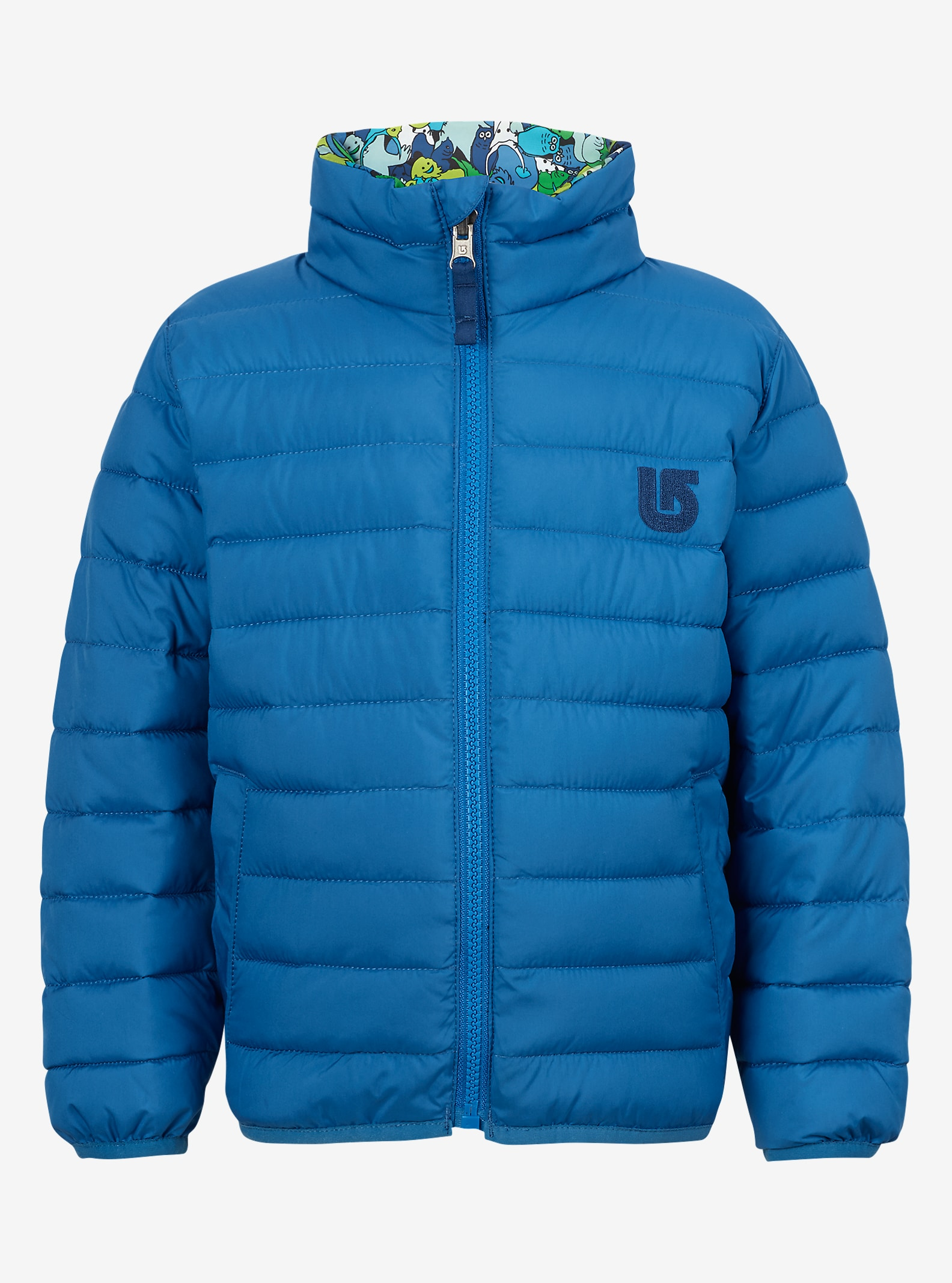 Burton Minishred Flex Wendbare Steppjacke angezeigt in Glacier / Sasquatch
