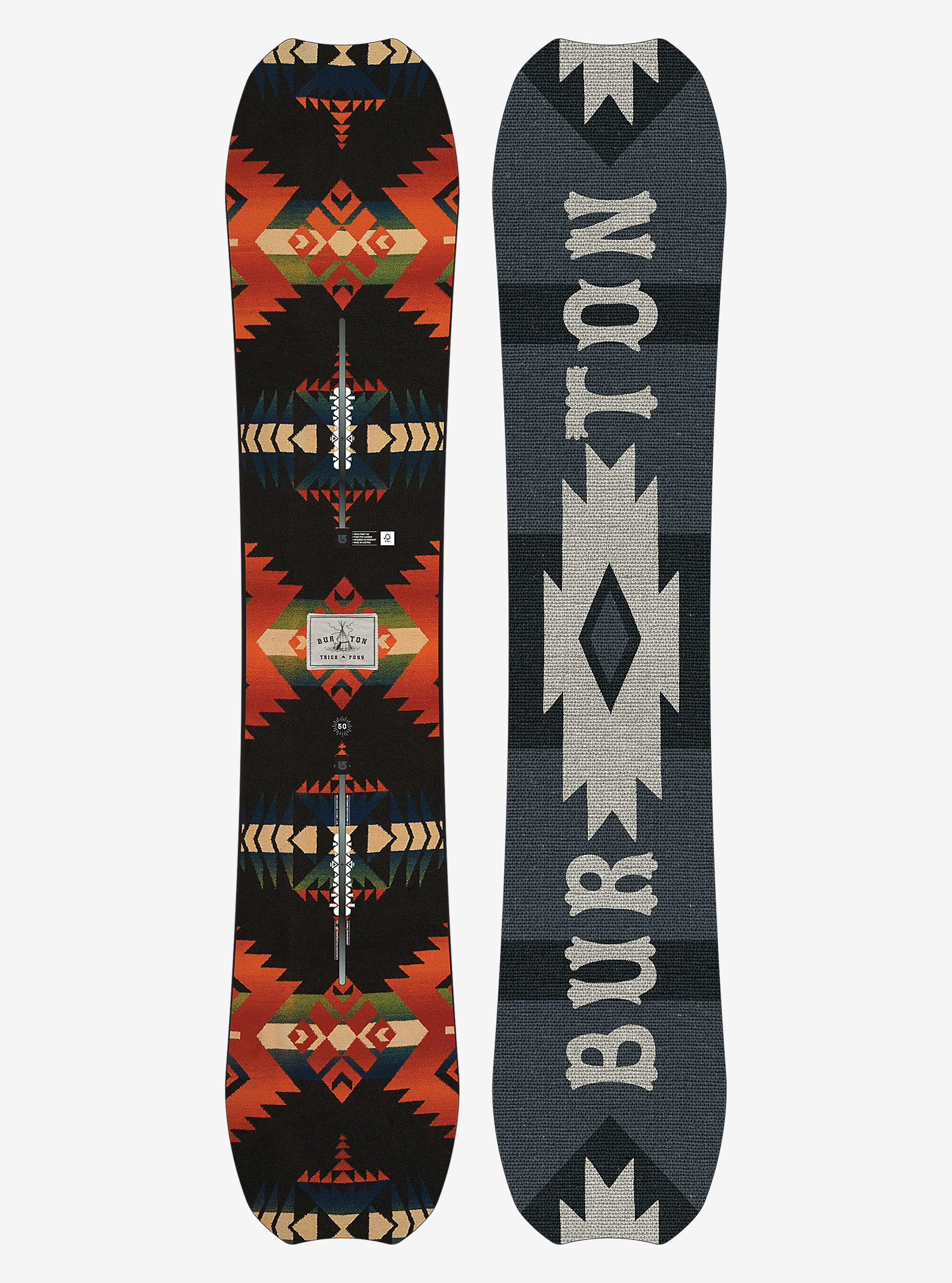 Burton Trick Pony Snowboard shown in 150
