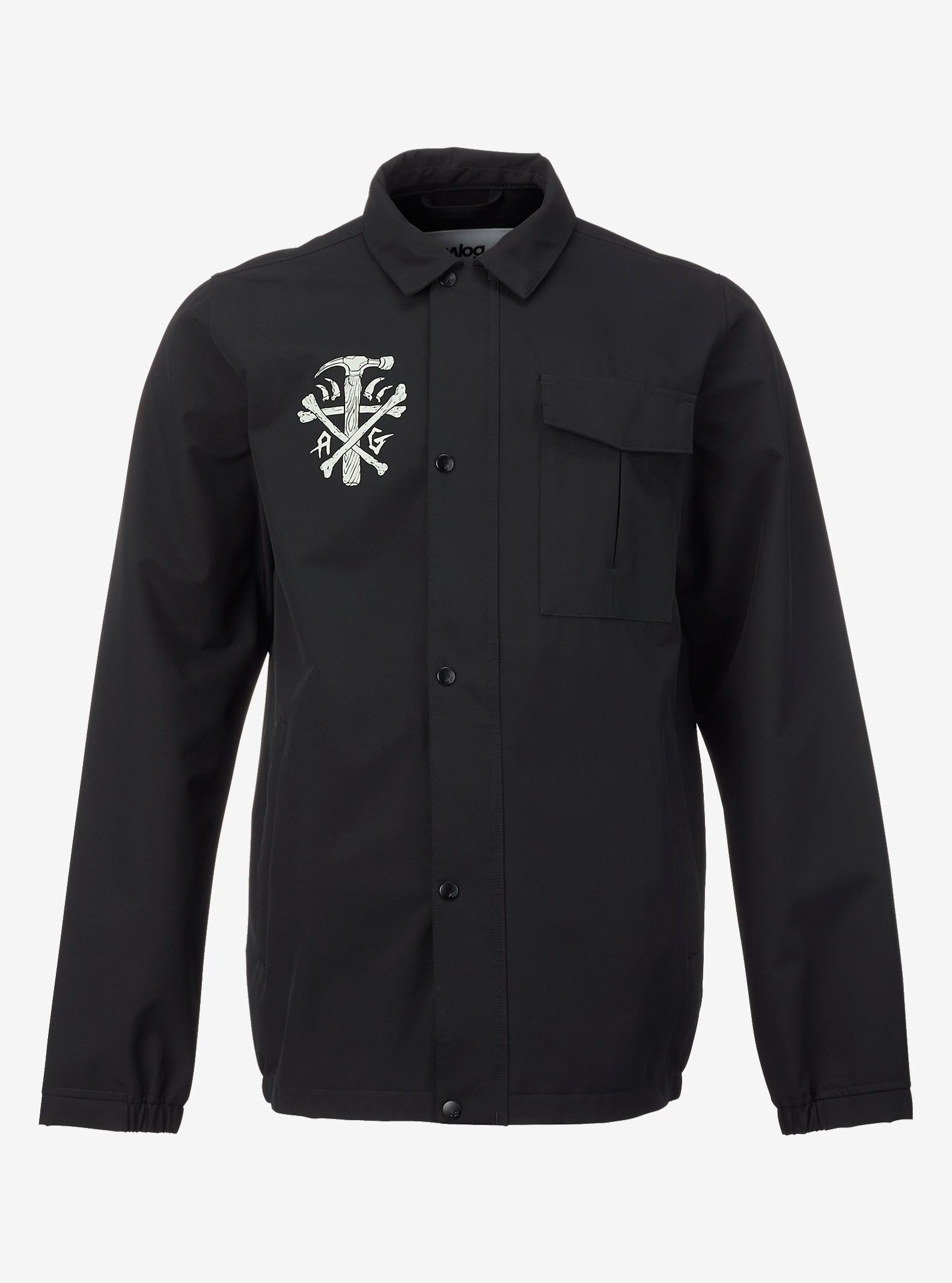 Analog 3LS Foxhole Jacket shown in True Black