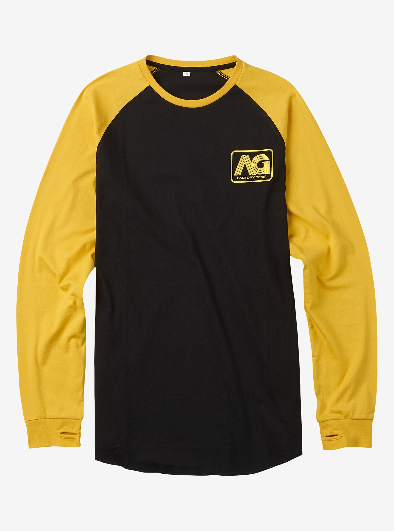 Analog Agonize Long Sleeve T-Shirt shown in True Black