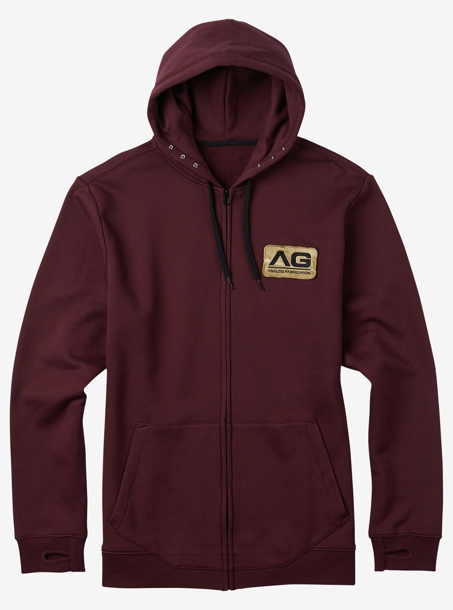 Analog Mobilize Full-Zip Hoodie shown in Deep Purple