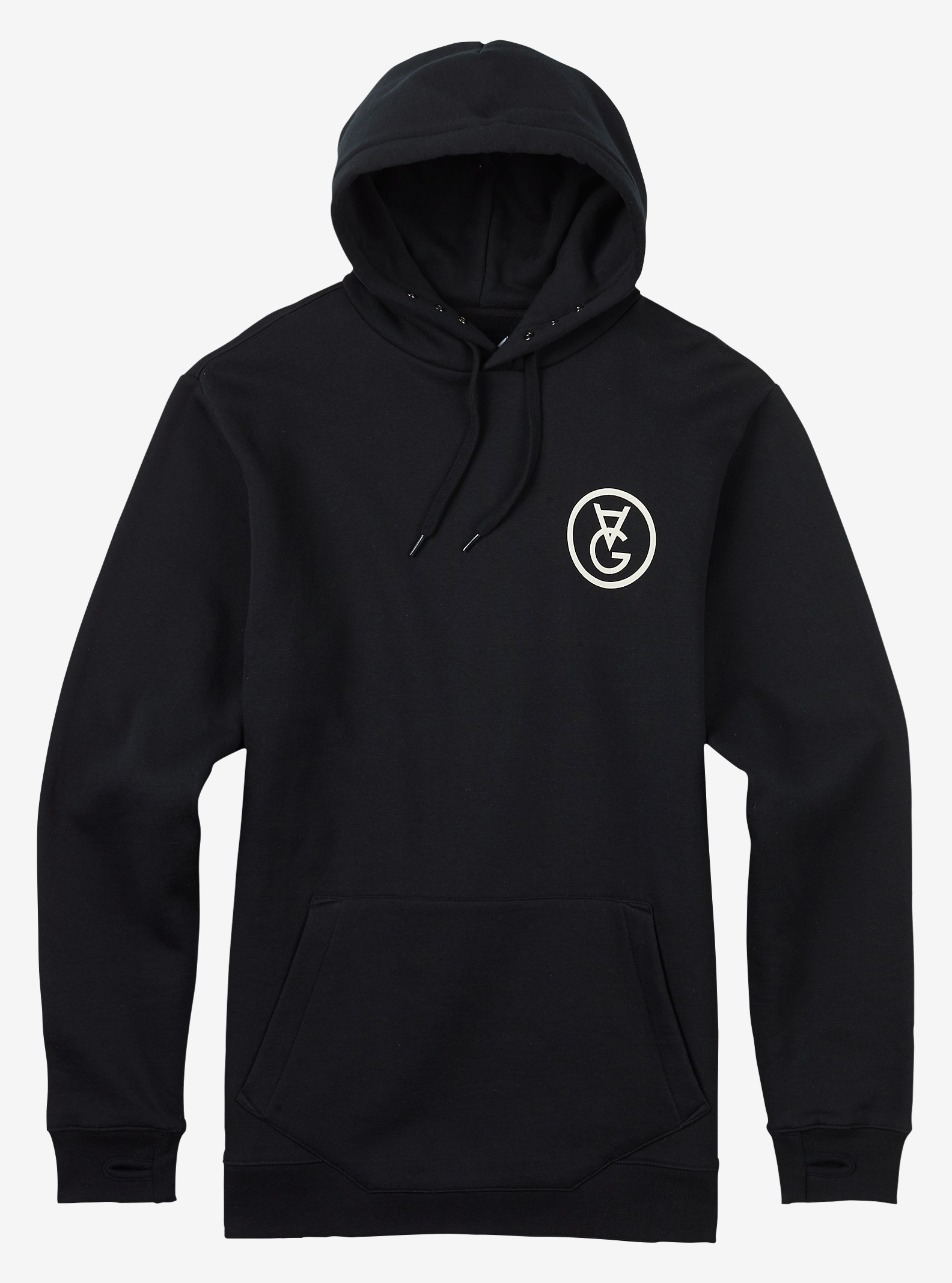 Analog Agent Pullover shown in True Black