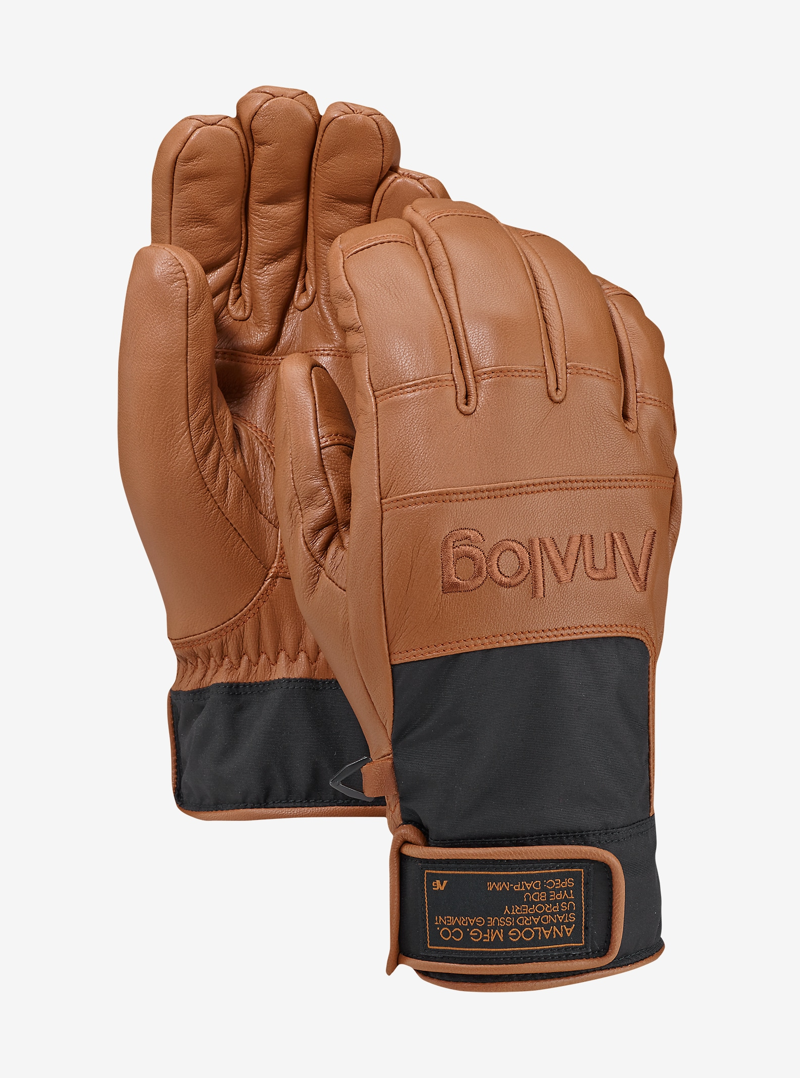 Analog Diligent Glove shown in Copper Leather