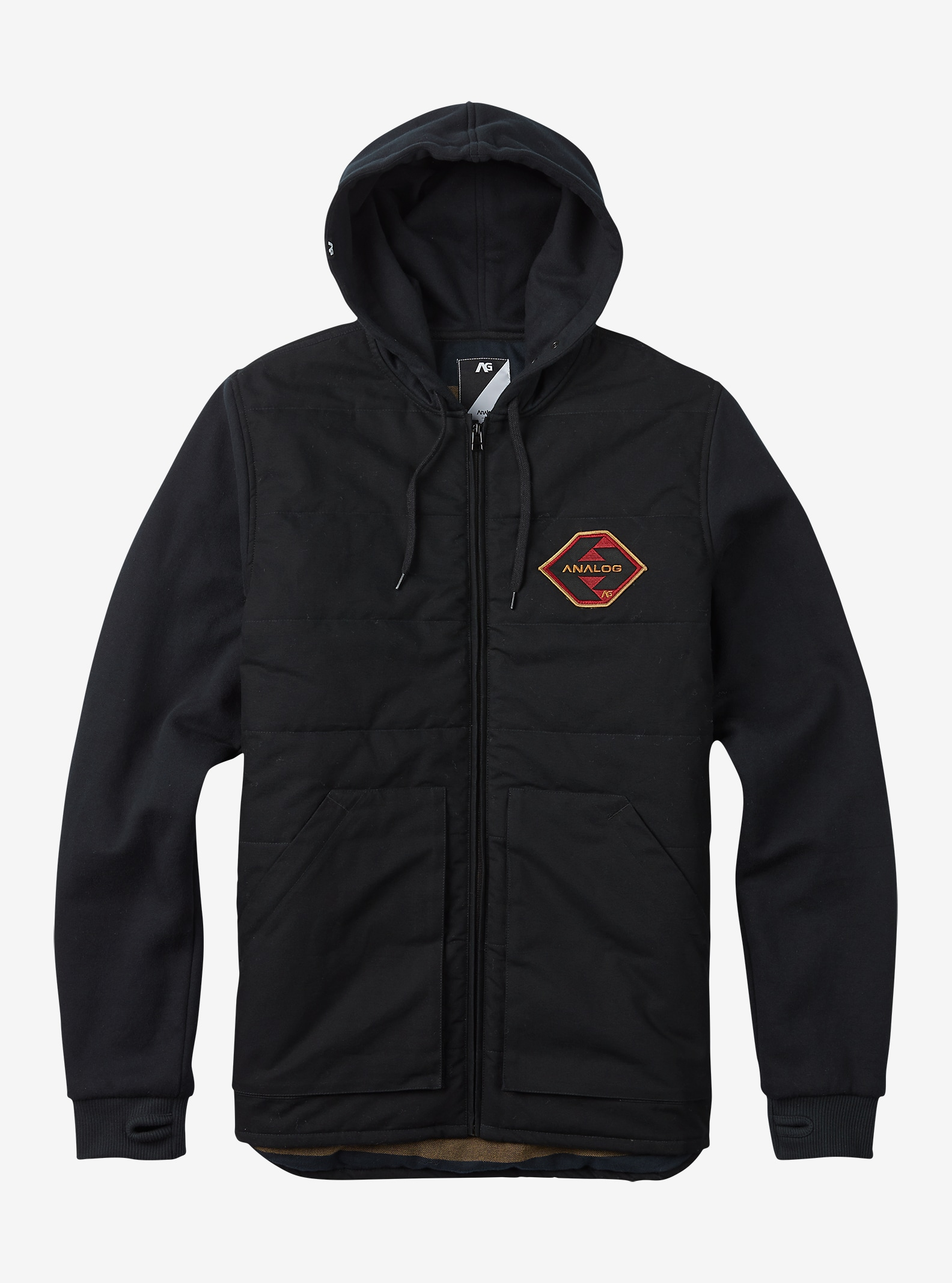 Analog Affiliate Jacket shown in True Black