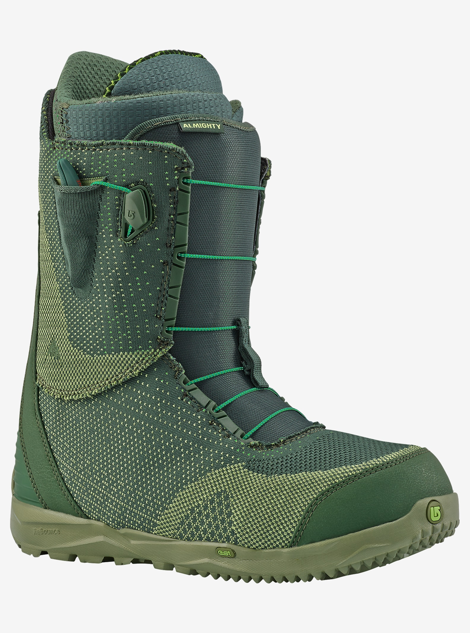 Burton Almighty Snowboard Boot shown in Multiweave
