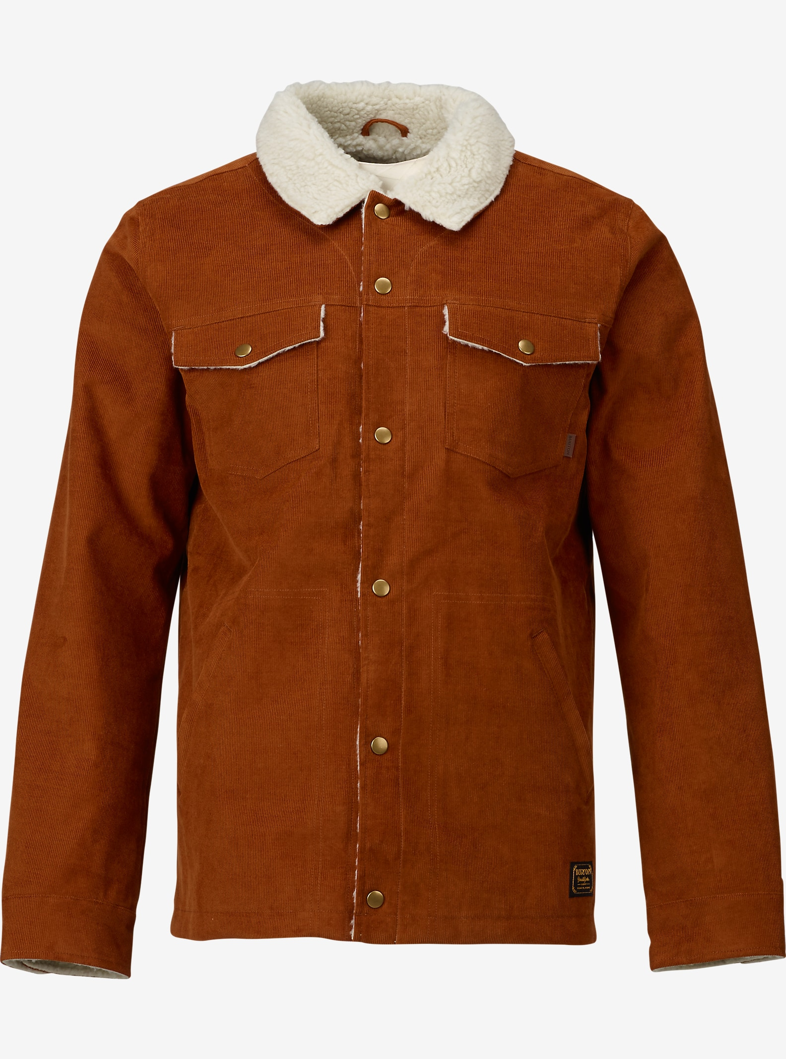 Burton Cordova Jacket shown in Chestnut Corduroy