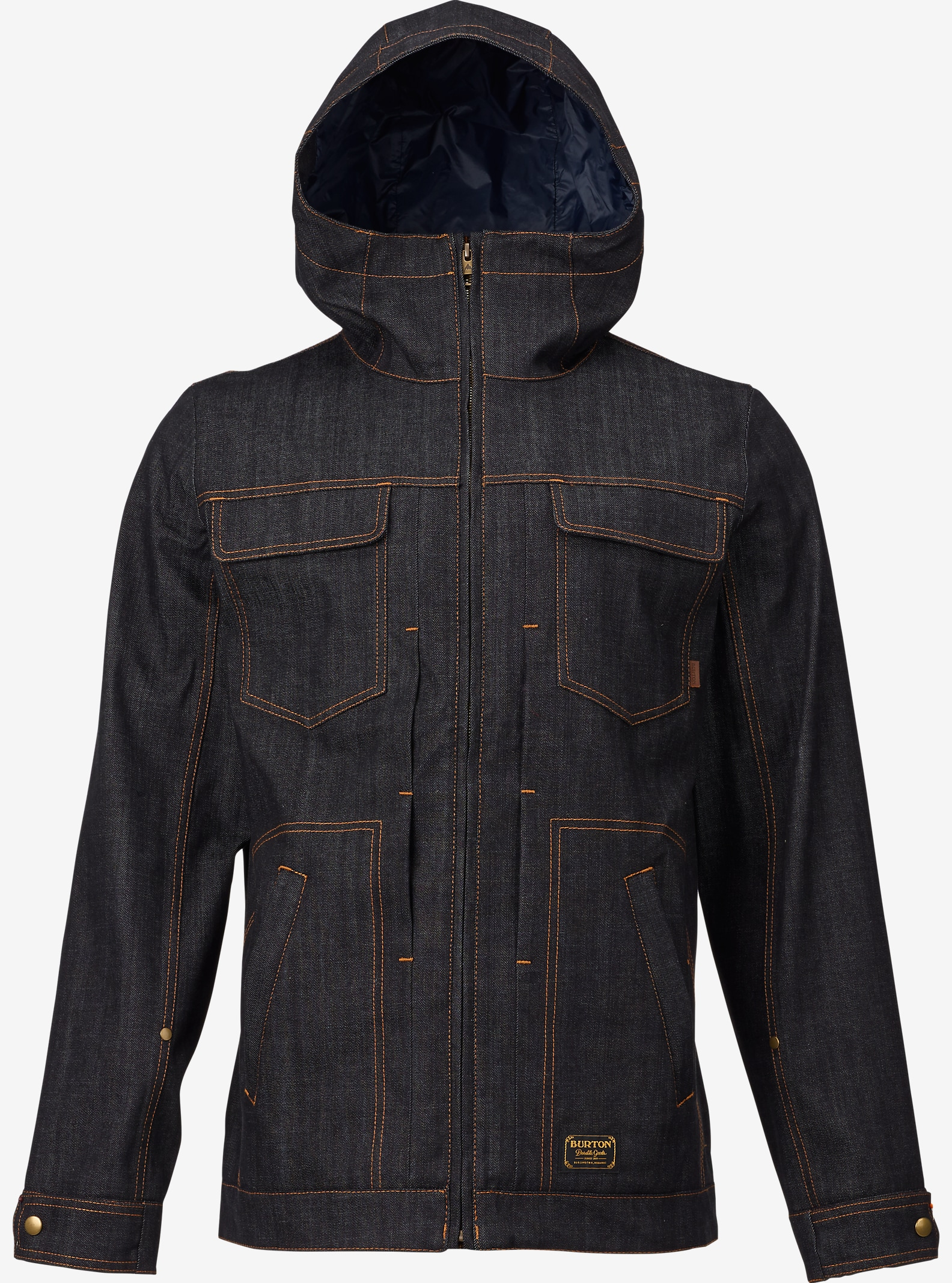 Burton Benson Jacket shown in Denim / Shiprock