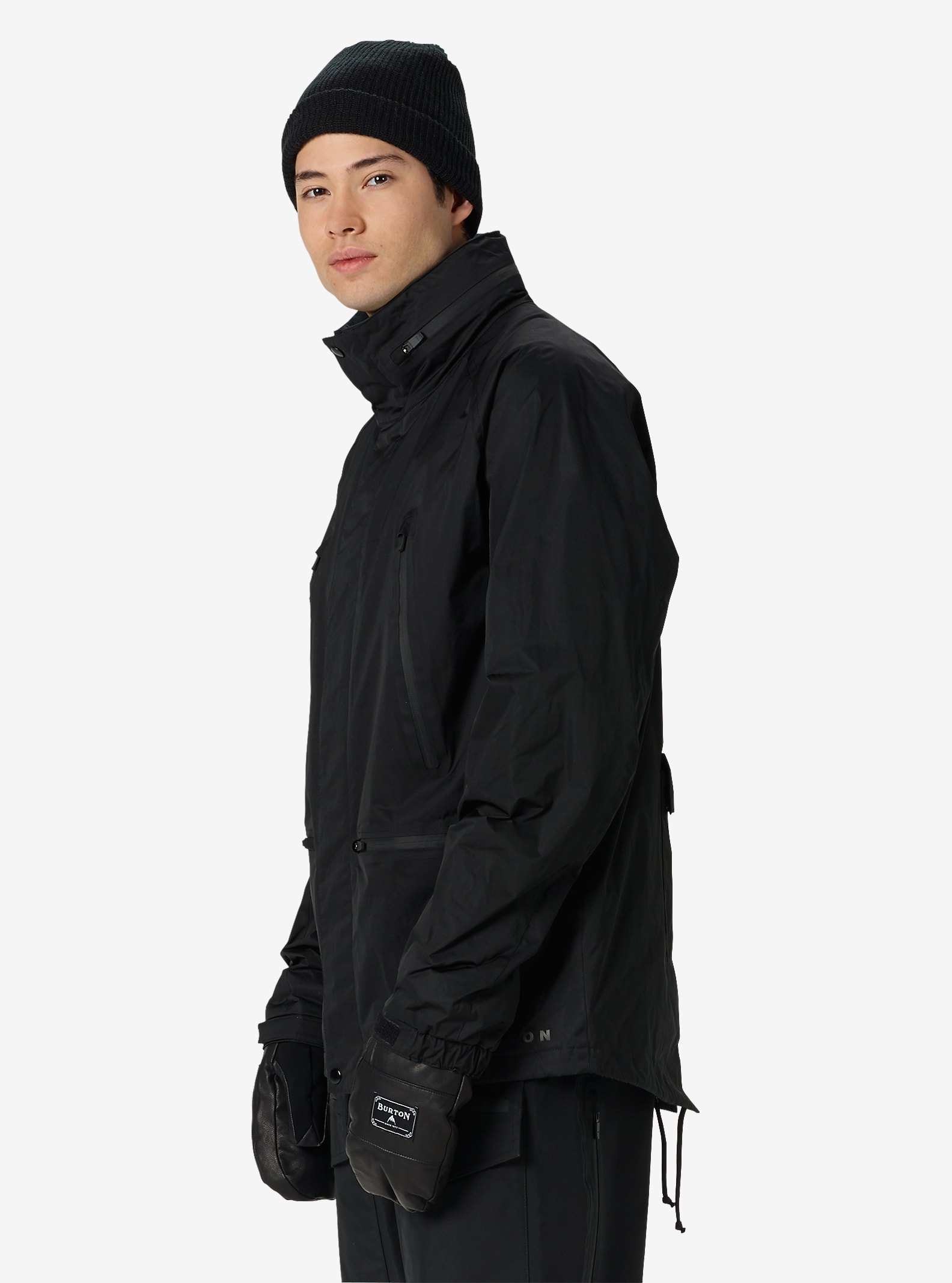 Mens jacket deals - Black Scale X Burton Harbor Jacket Shown In Black Scale Black