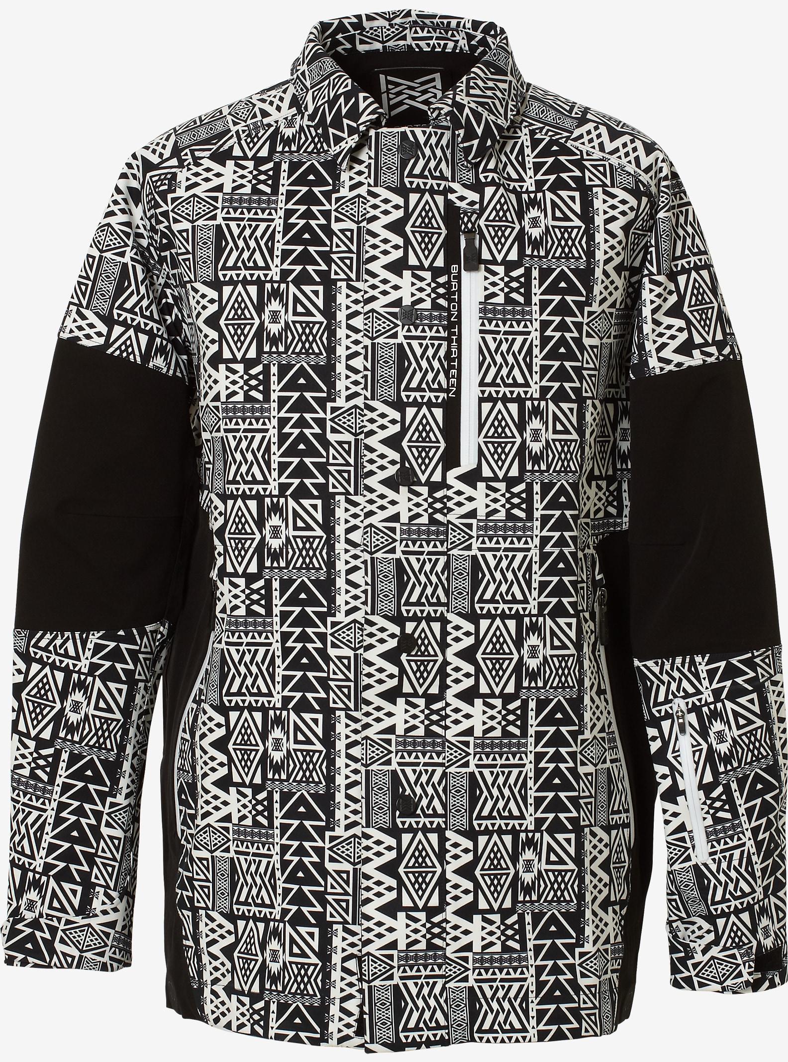 Burton THIRTEEN Diyugi Jacket shown in Prop Black