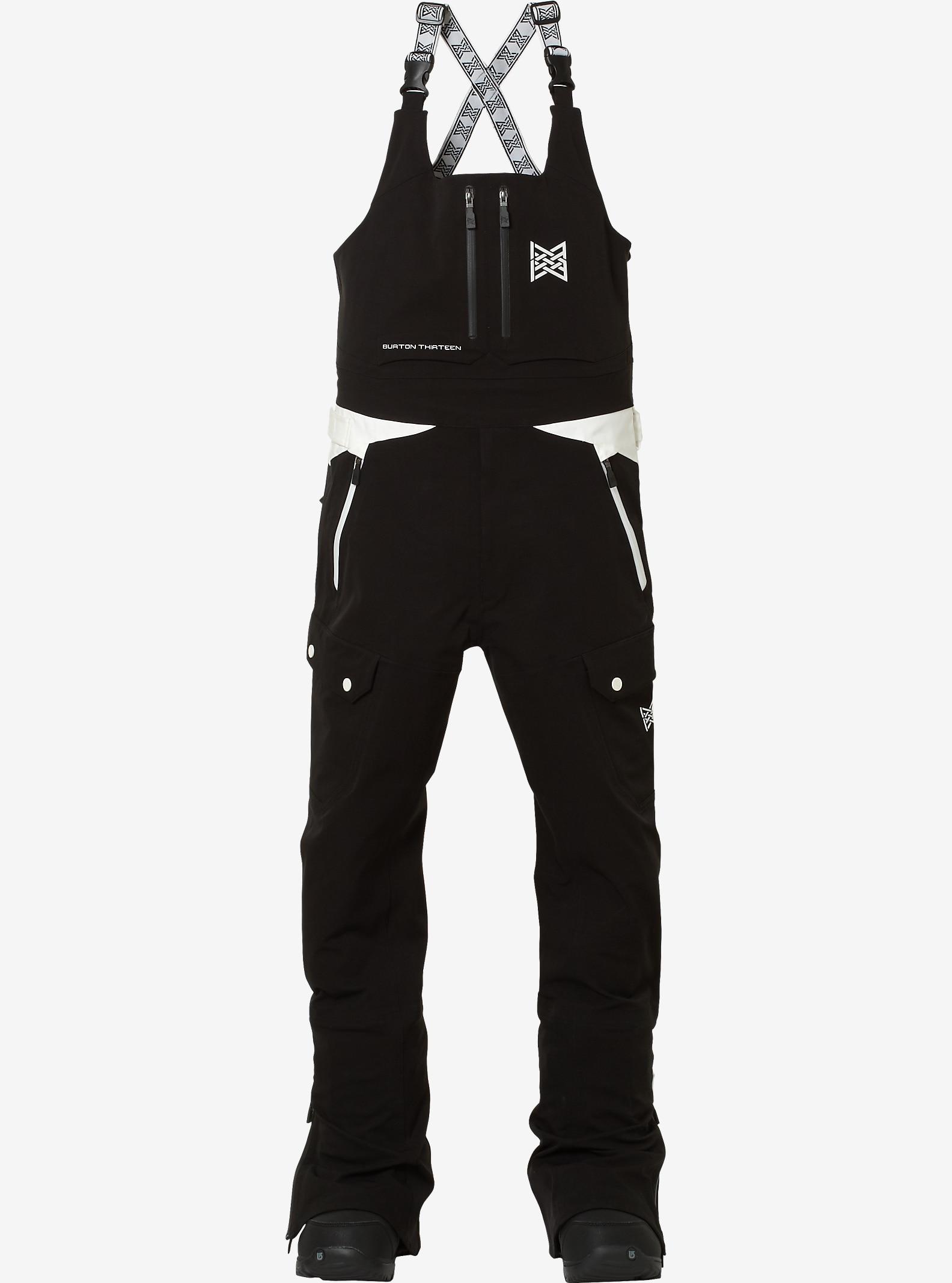 Burton THIRTEEN Moqui Bib Pant shown in Black