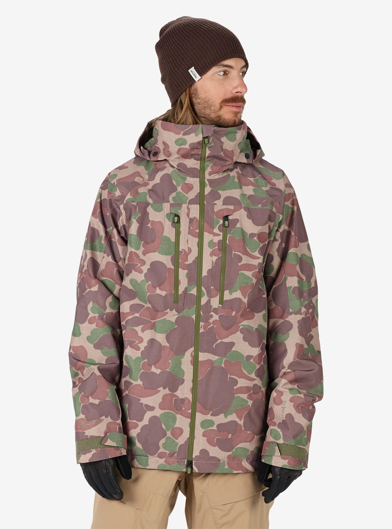 Men's Burton [ak] 2L GORE‑TEX® Swash Jacket shown in Kodiak Camo