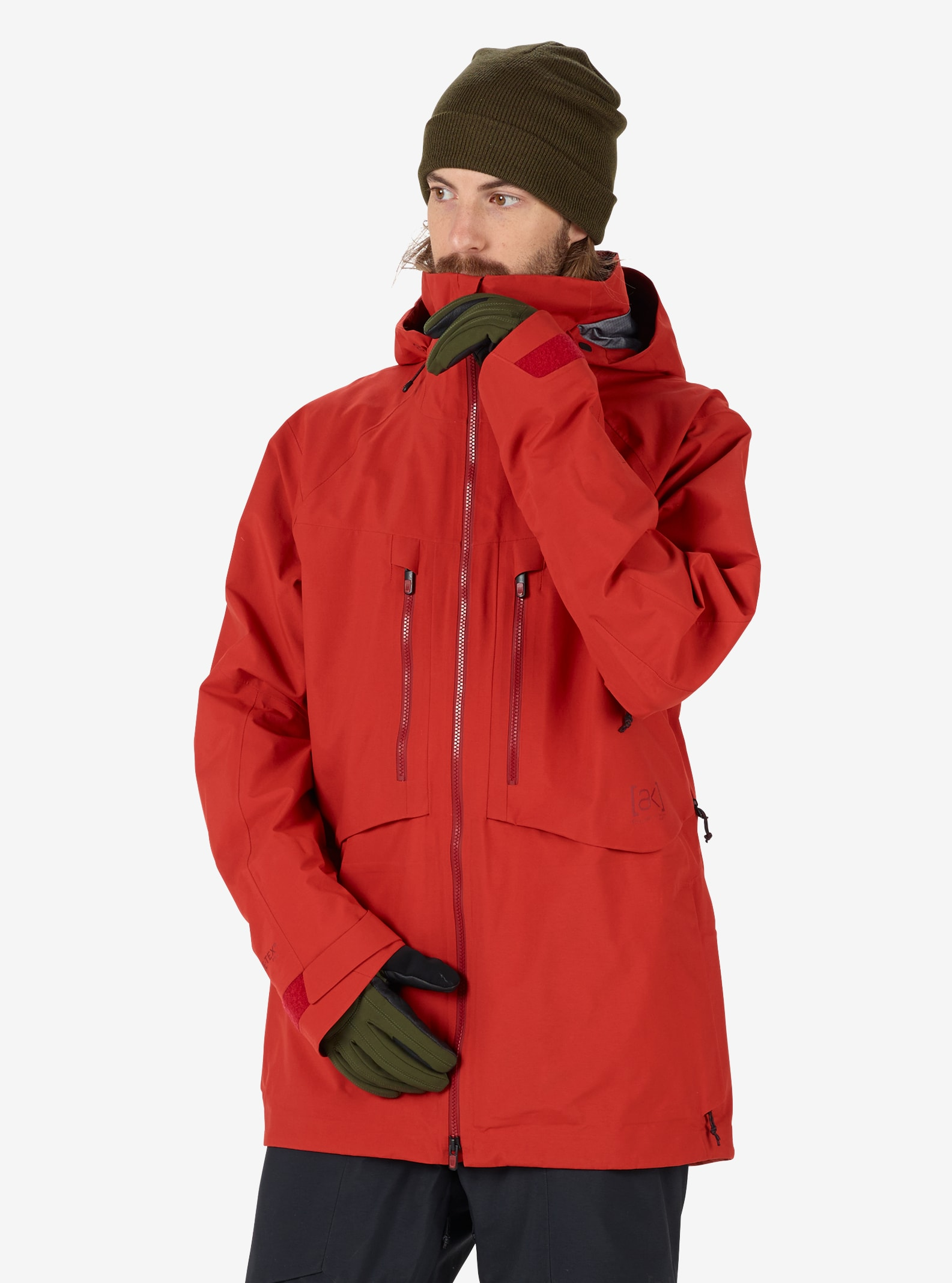 Men's Burton [ak] GORE‑TEX® 3L Hover Jacket shown in Bitters