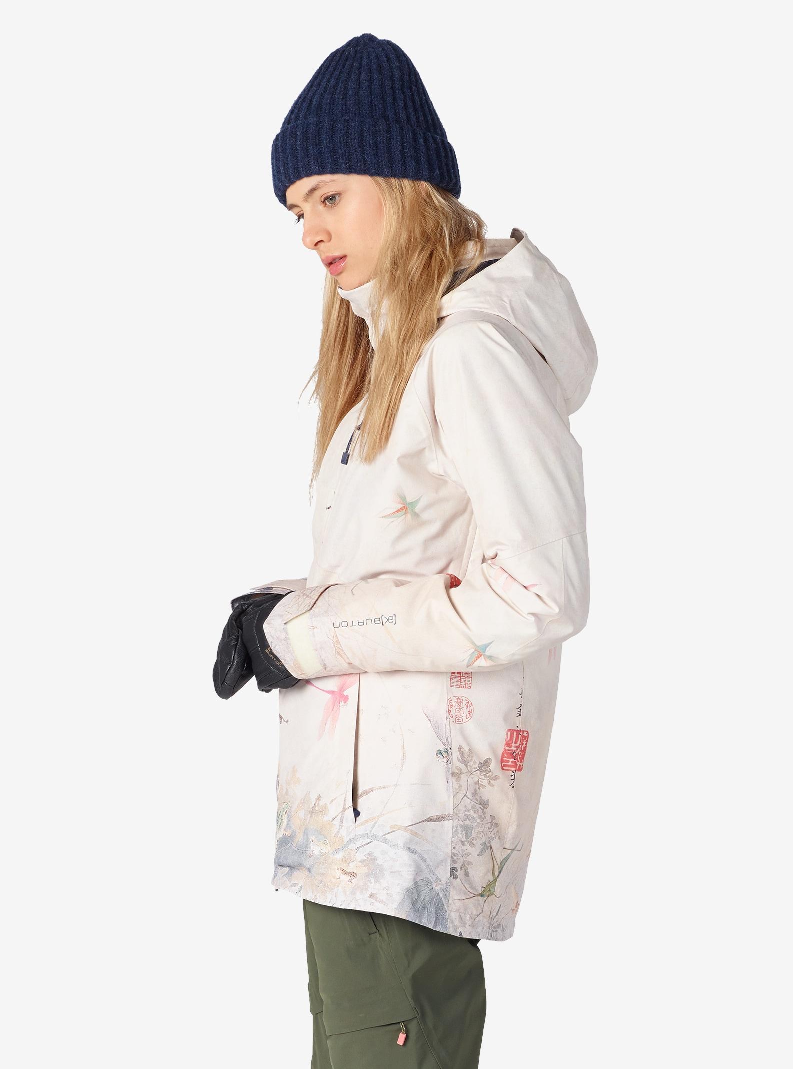 Women's Burton [ak] GORE‑TEX® 2L Embark Jacket shown in Shan Shui