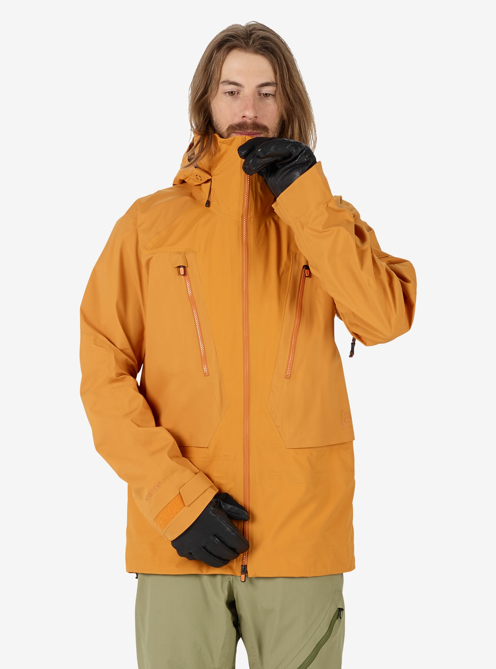 Men's Burton [ak] 3L GORE‑TEX® Freebird Jacket shown in Golden Oak