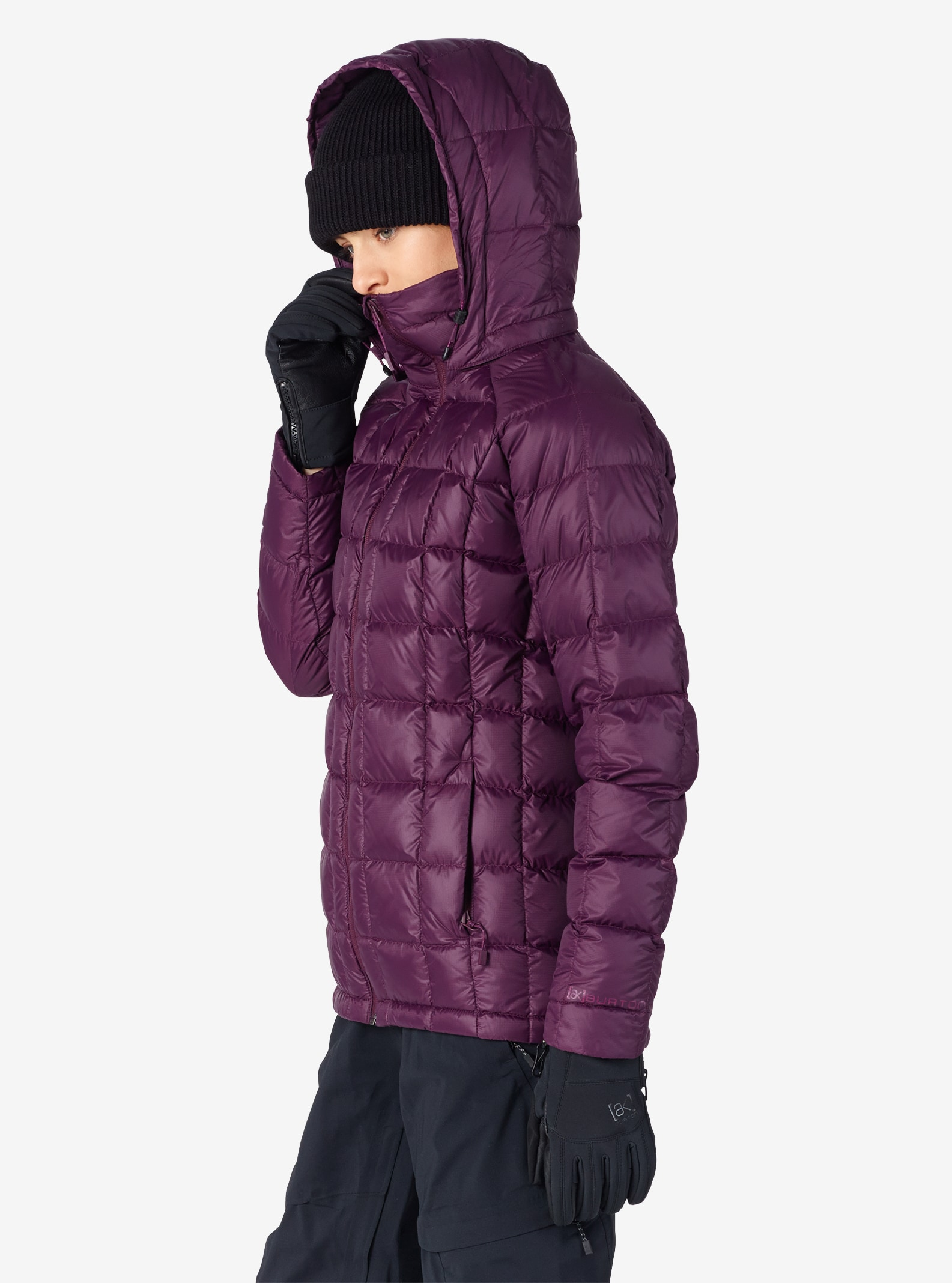 Women's Burton [ak] Baker Down Insulator Jacket shown in Starling