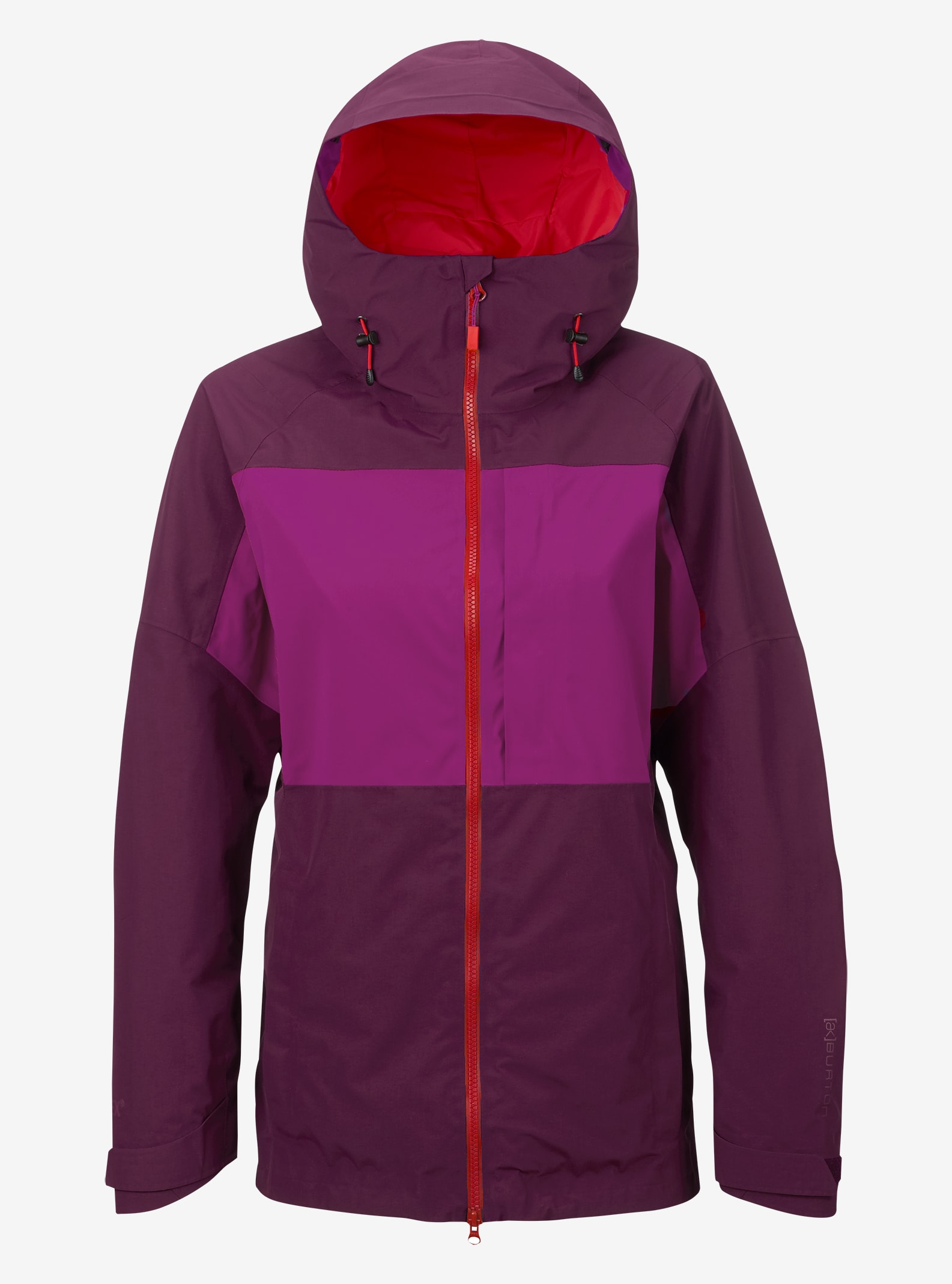 Women's Burton [ak] GORE‑TEX® 2L Blade Jacket shown in Starling / Grapeseed