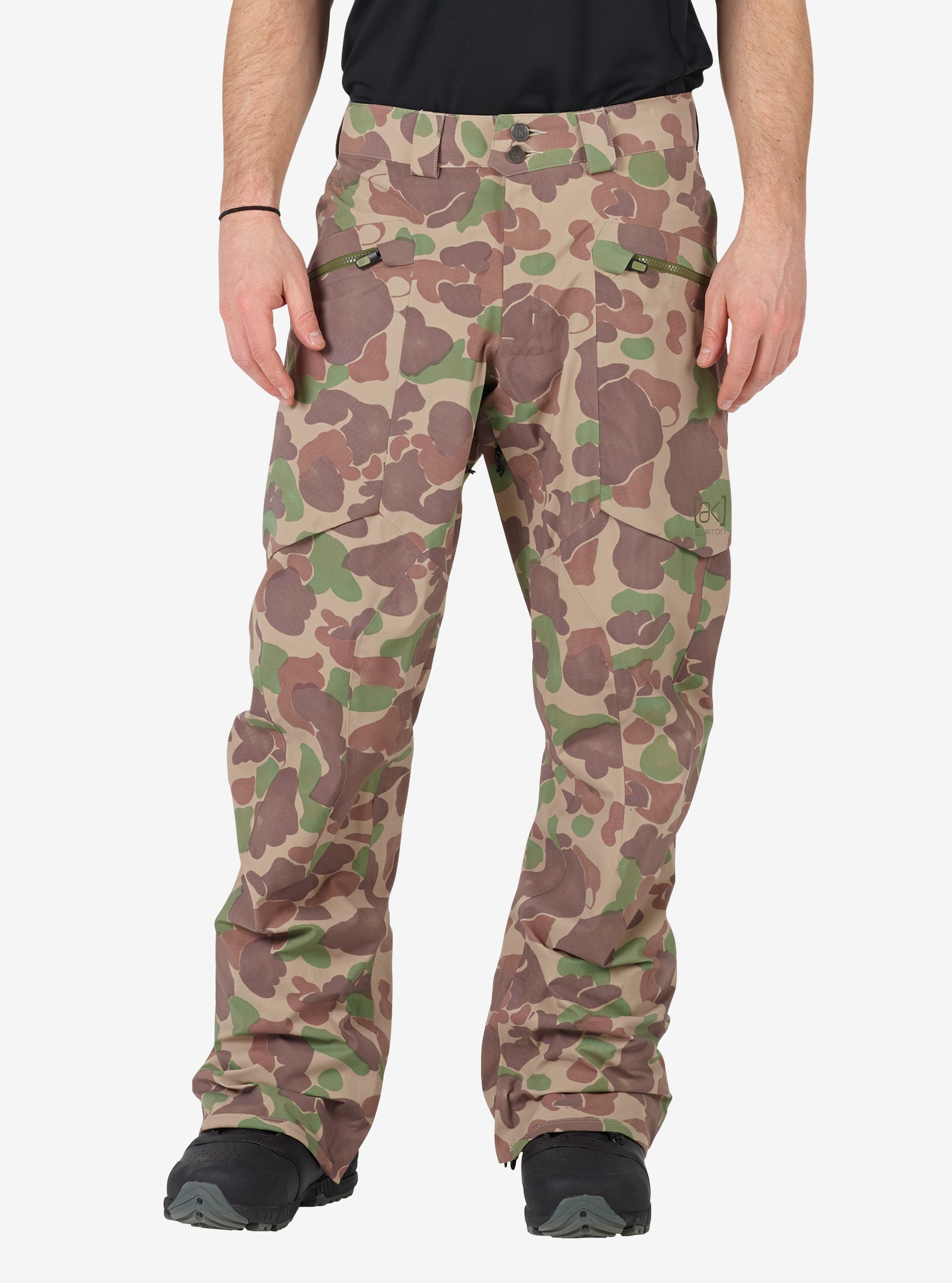 Men's Burton [ak] GORE‑TEX® 3L Hover Pant shown in Kodiak Camo