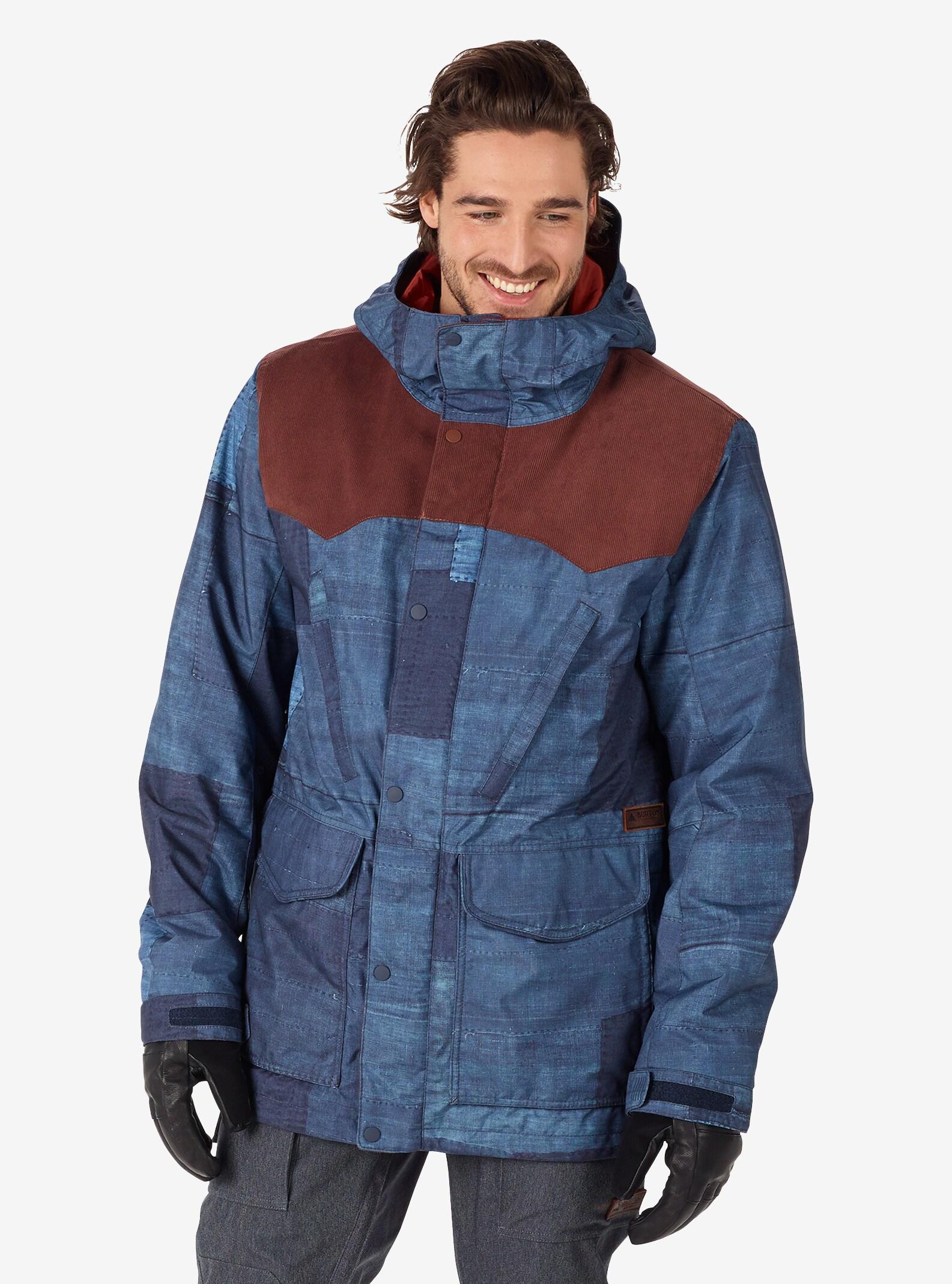 Men's Burton Folsom Jacket shown in Chestnut Cord / Indiohobo