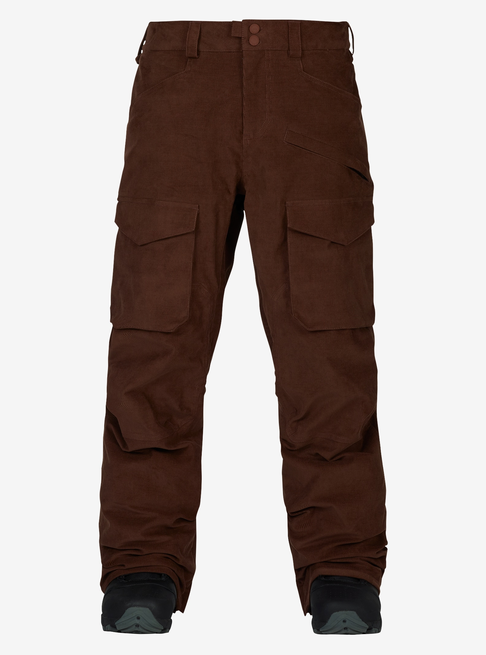 Men's Burton Hellbrook Pant shown in Chestnut Cord