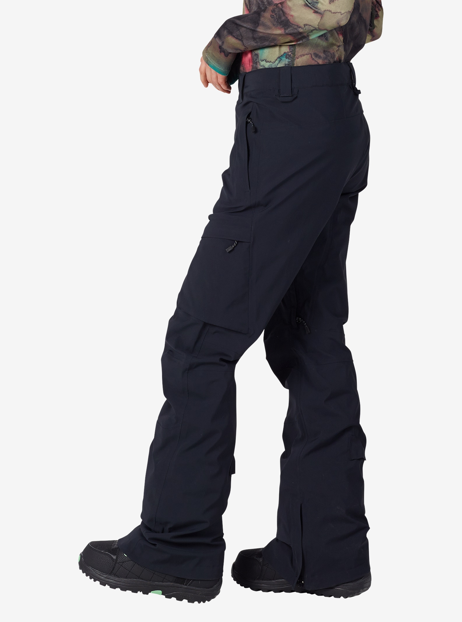 Women's Burton [ak] GORE‑TEX® Summit Pant shown in True Black