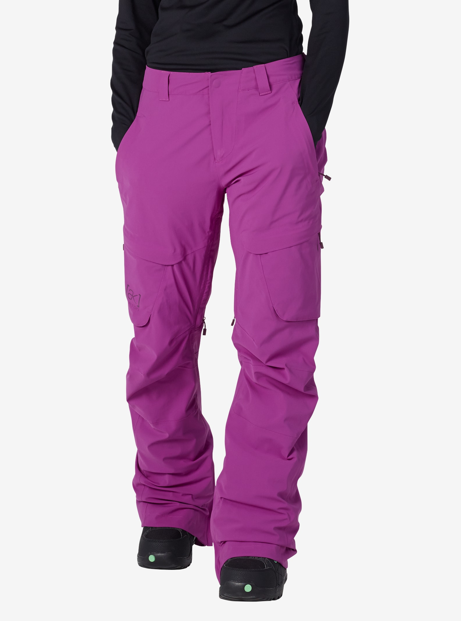 Women's Burton [ak] GORE‑TEX® Summit Pant shown in Grapeseed