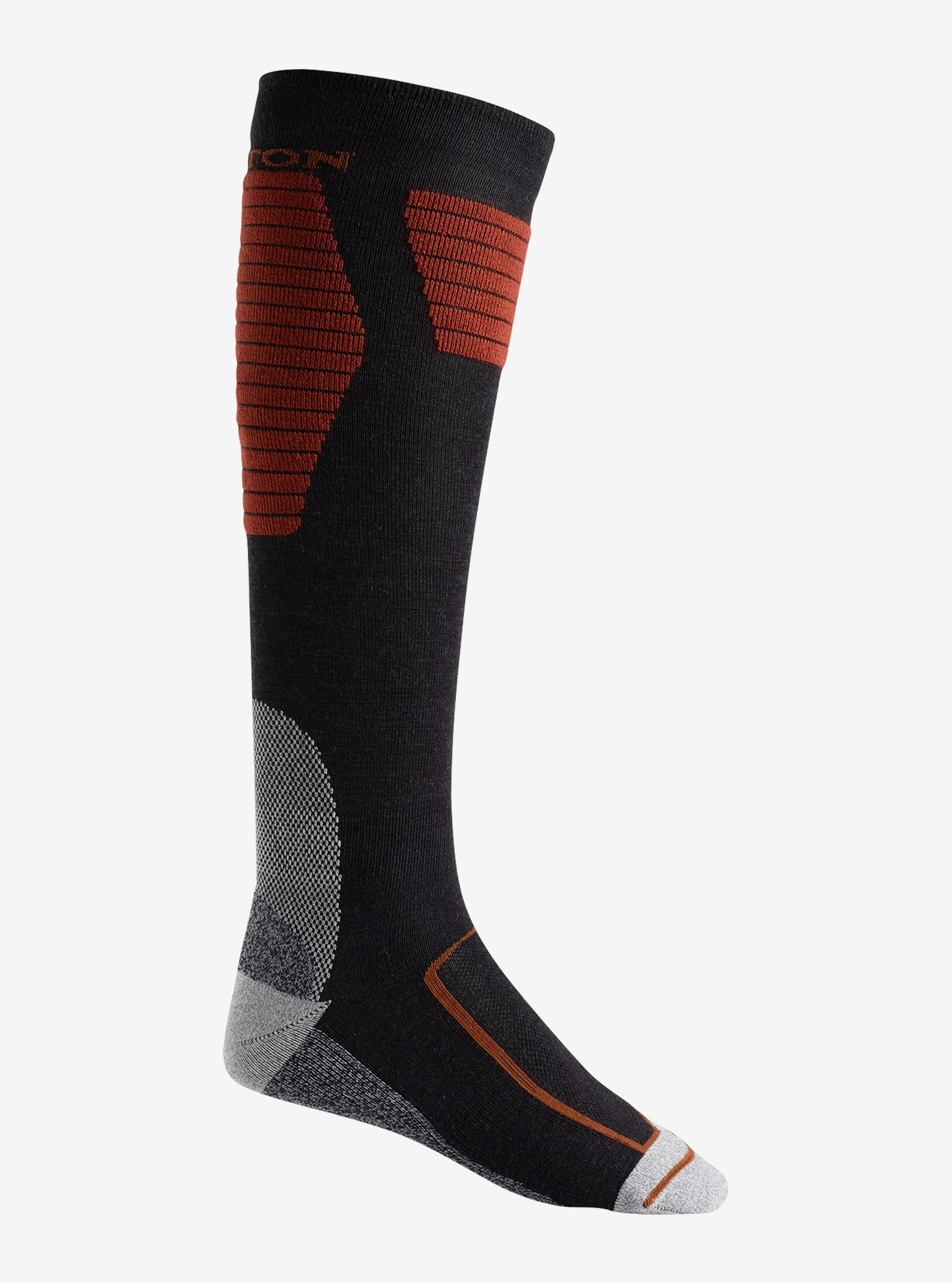 Men's Burton Ultralight Wool Sock shown in Faded Heather