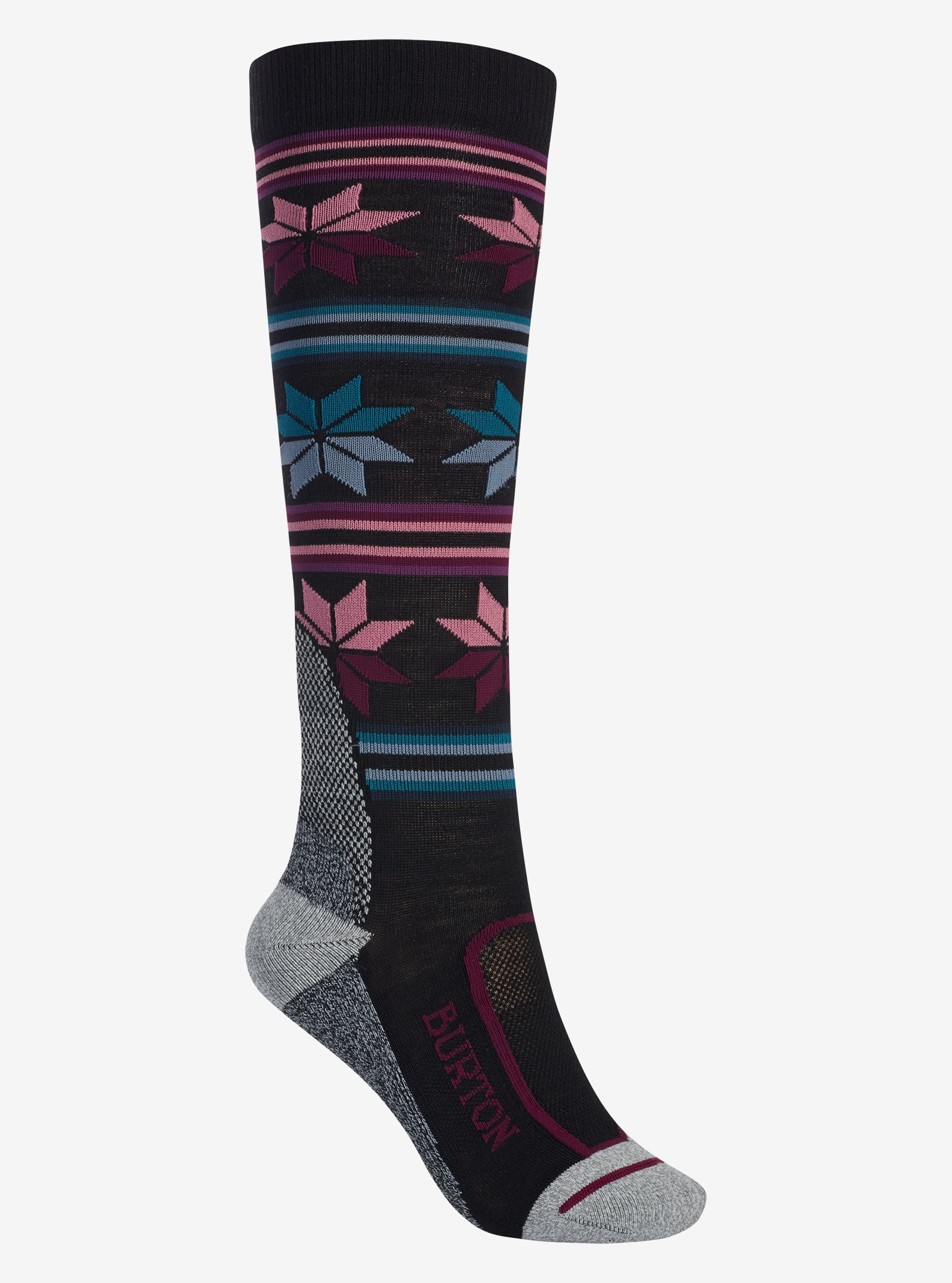 Burton Ultralight Wollsocken für Damen angezeigt in True Black