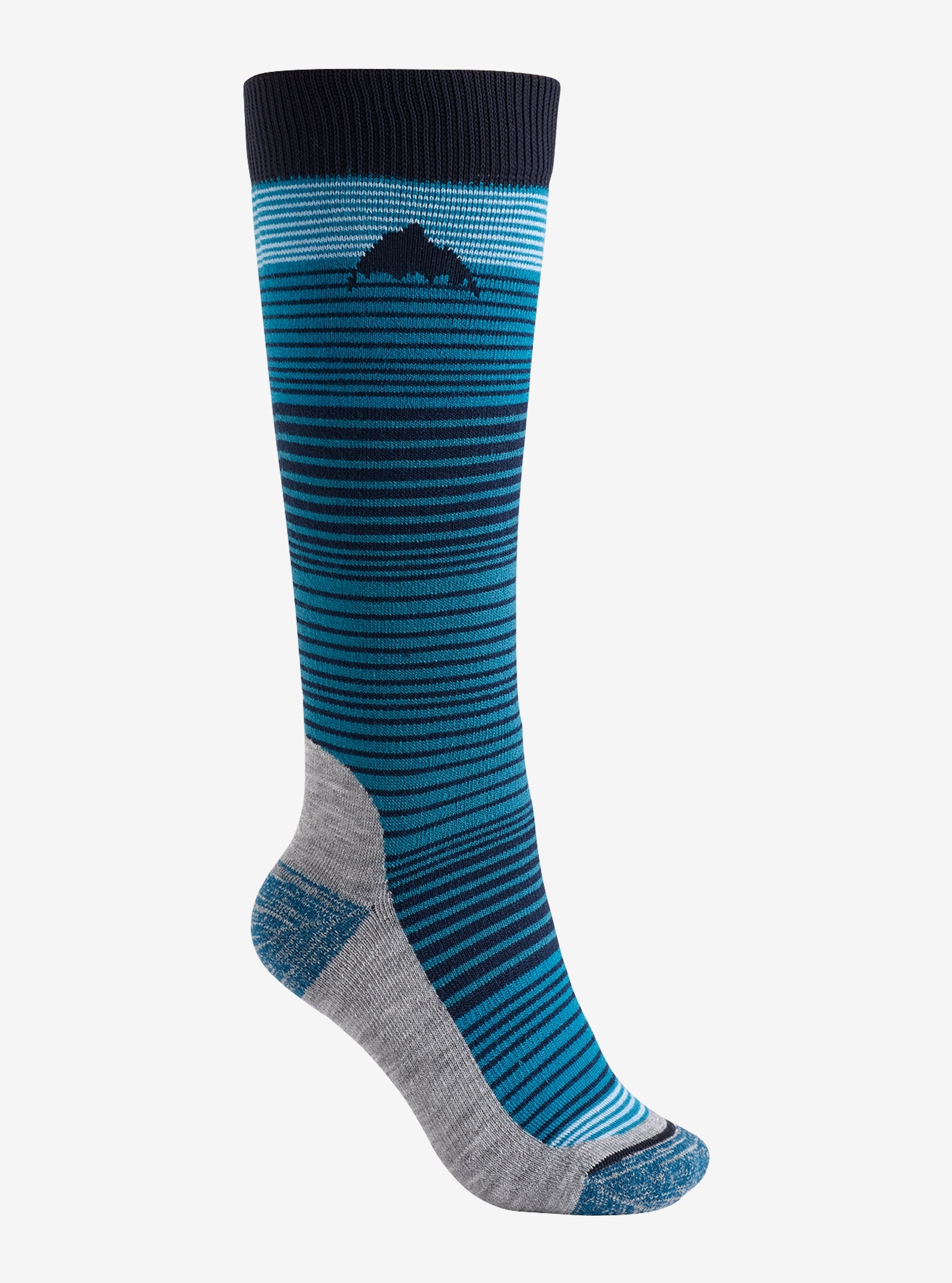 Women's Burton Women's Scout Sock shown in Mood Indigo
