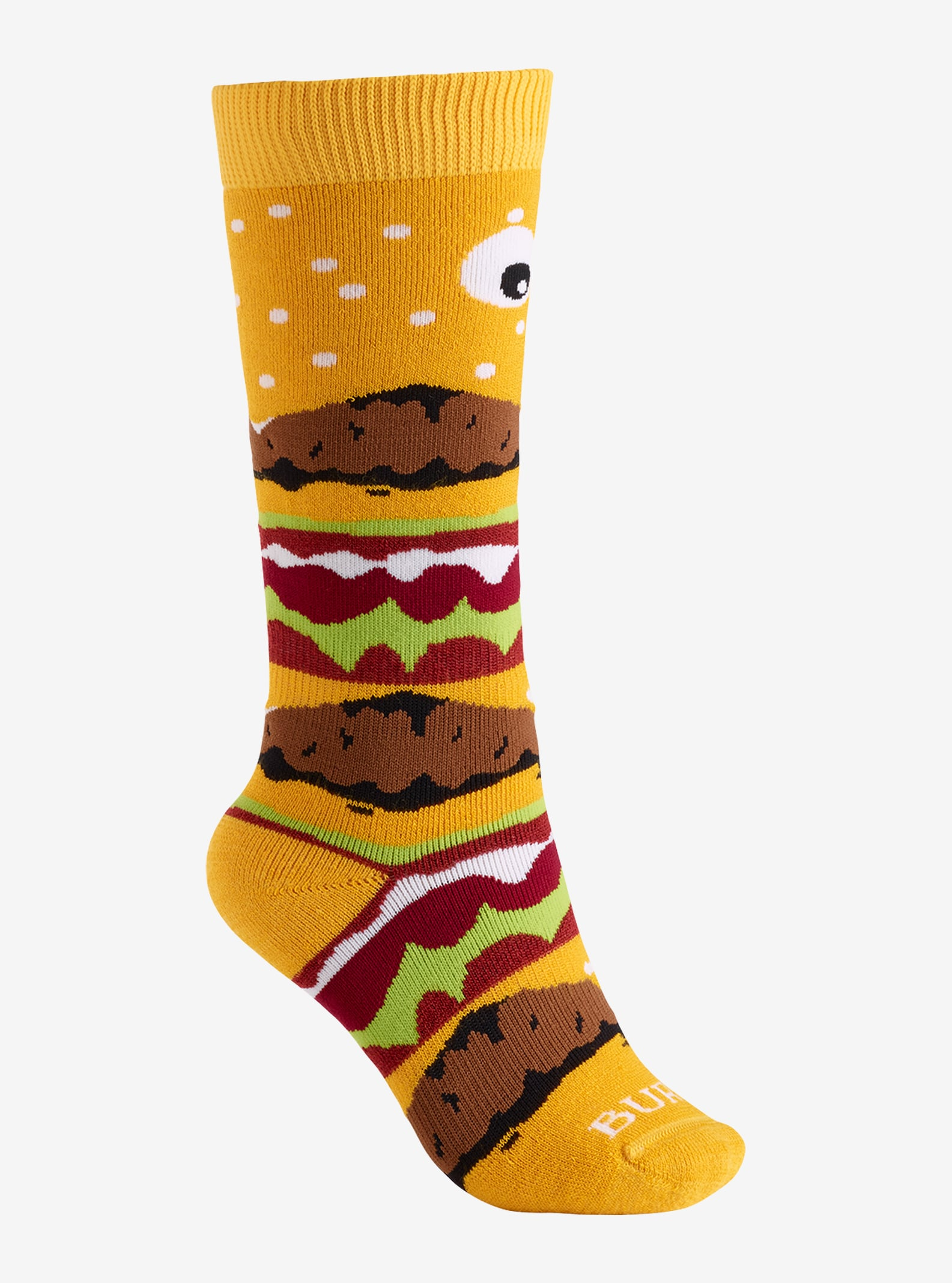 Kids' Burton Party Sock shown in Burger Deluxe