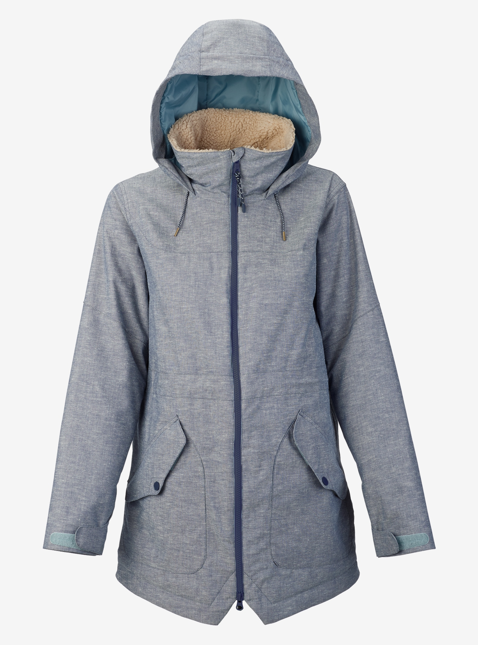 Women's Burton Prowess Jacket shown in Chambray