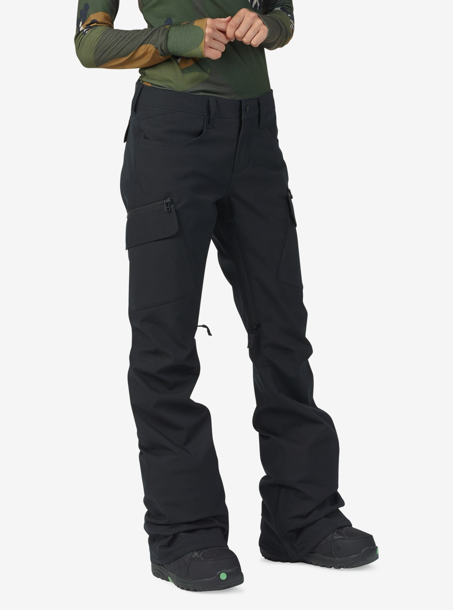 Women's Burton Gloria Pant shown in True Black