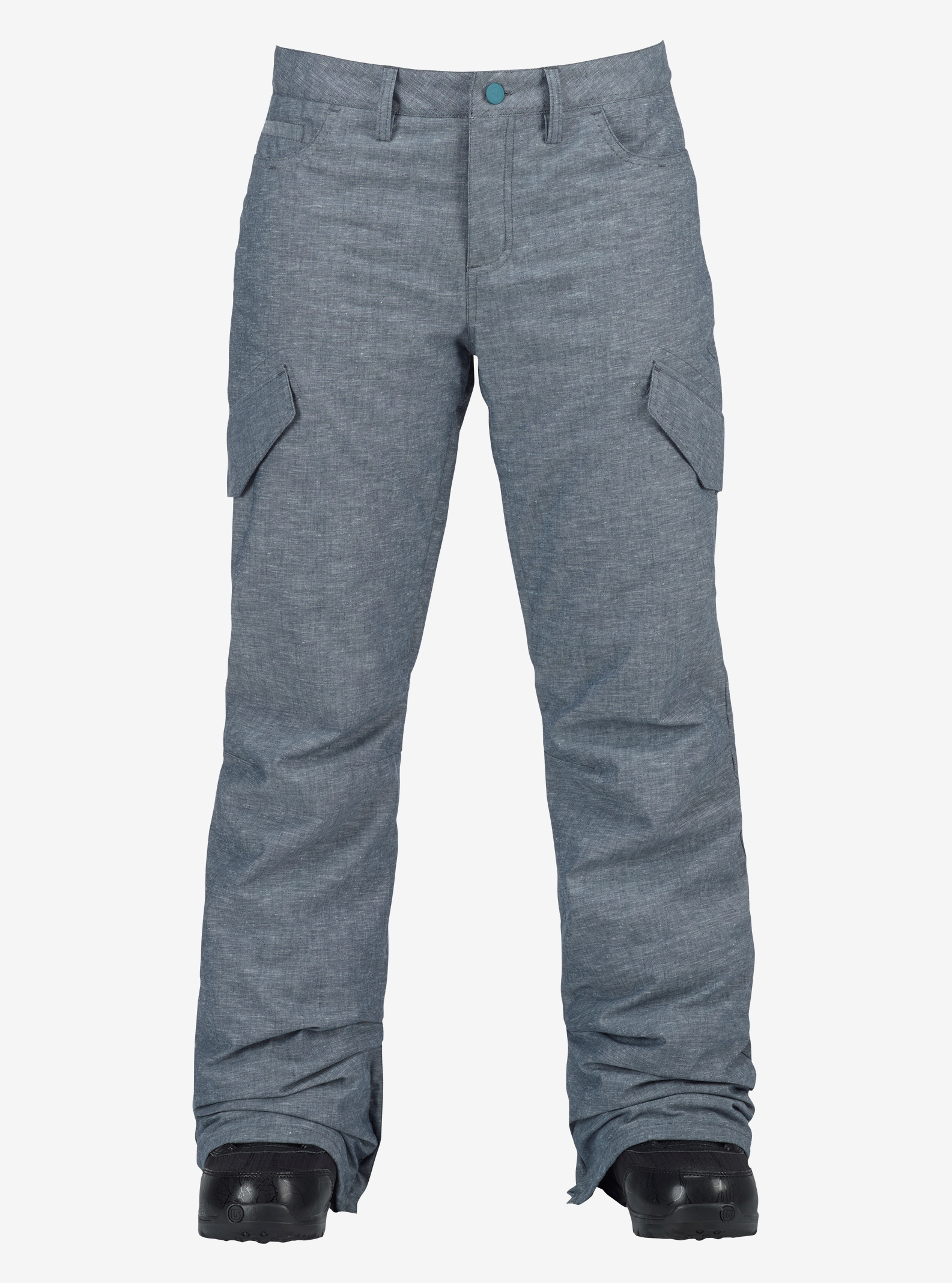 Women's Burton Fly Pant shown in Chambray