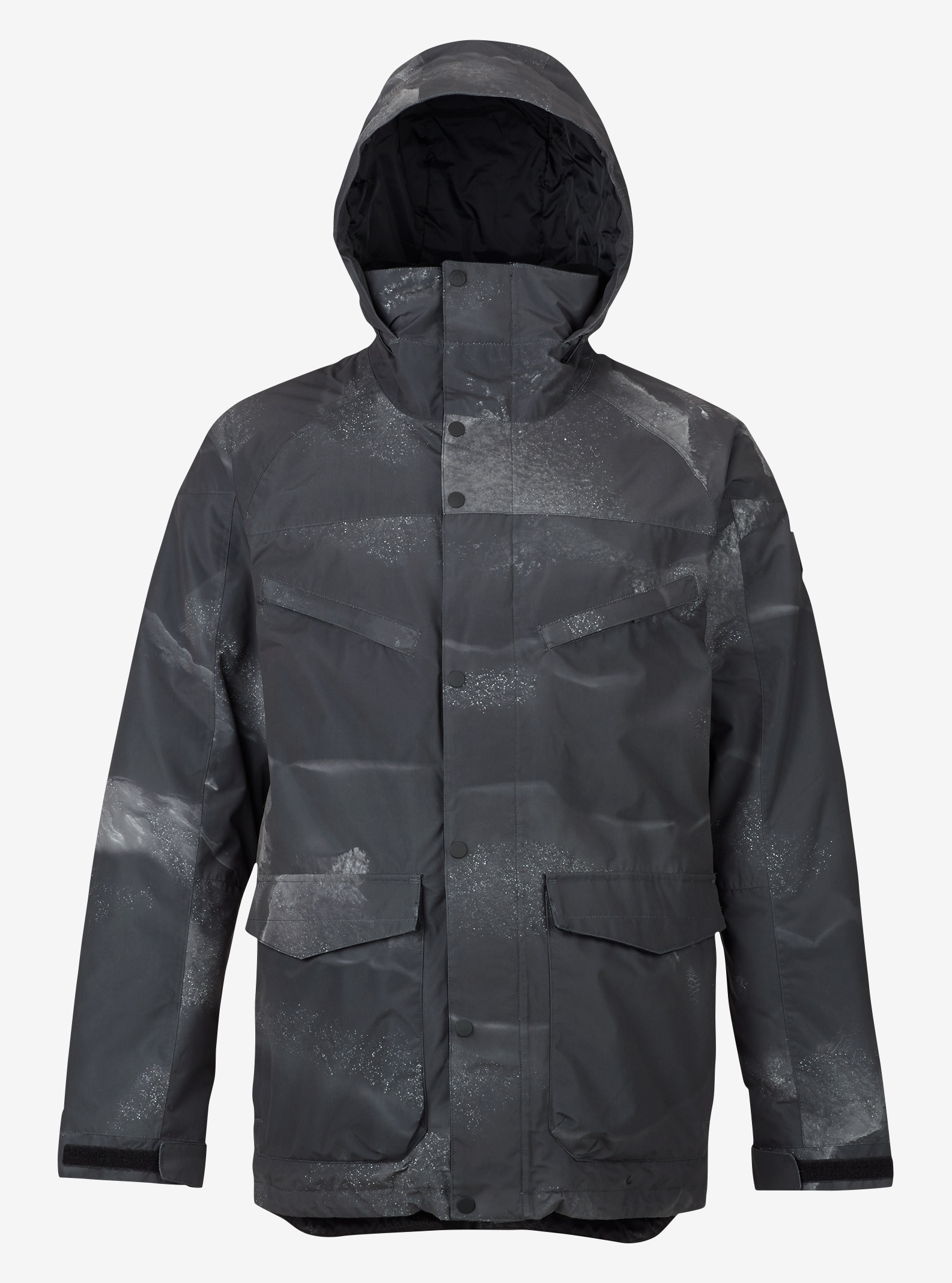 Men's Burton Breach Insulated Jacket shown in Zepheria