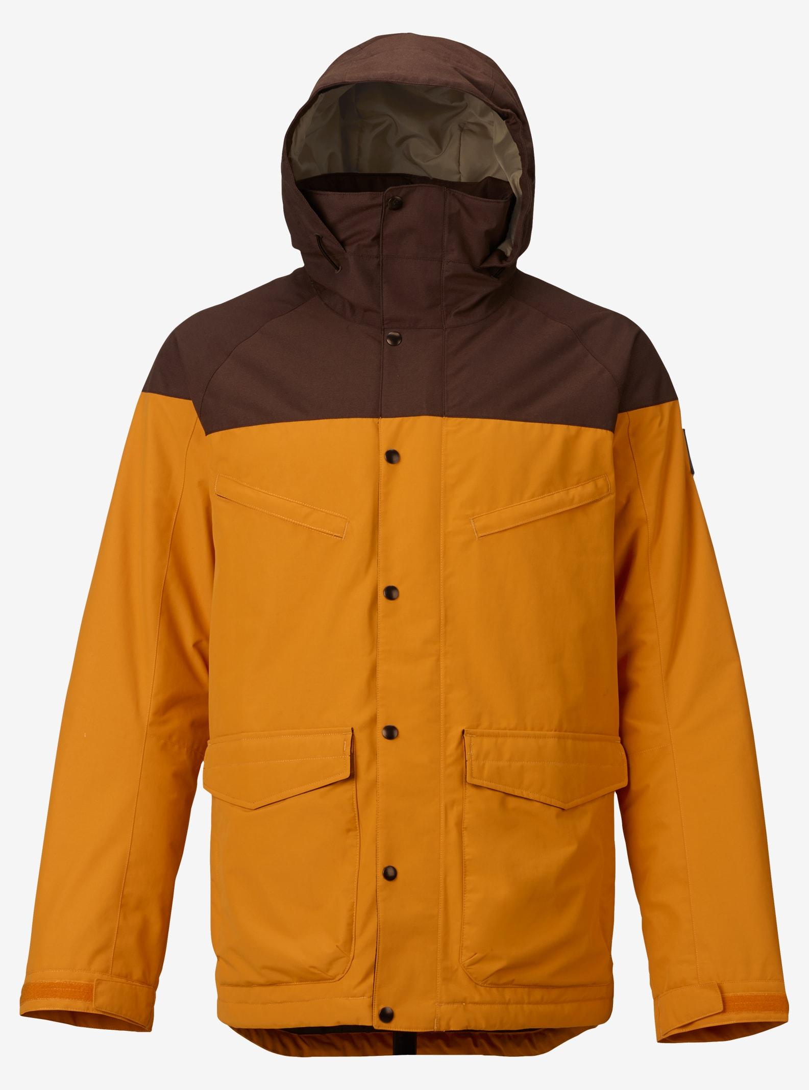 Men's Burton Breach Jacket shown in Golden Oak / Chestnut